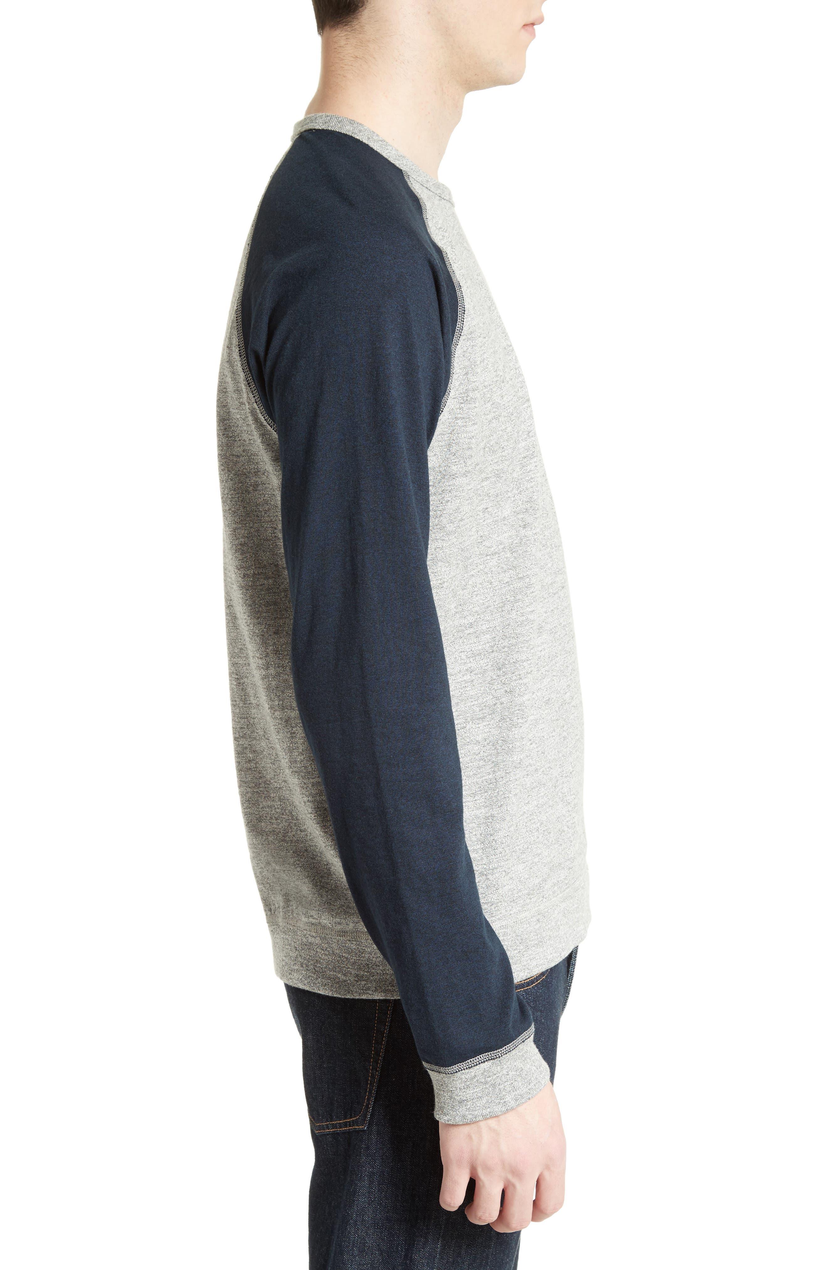 Alternate Image 3  - rag & bone Colorblock Raglan Sleeve Sweatshirt