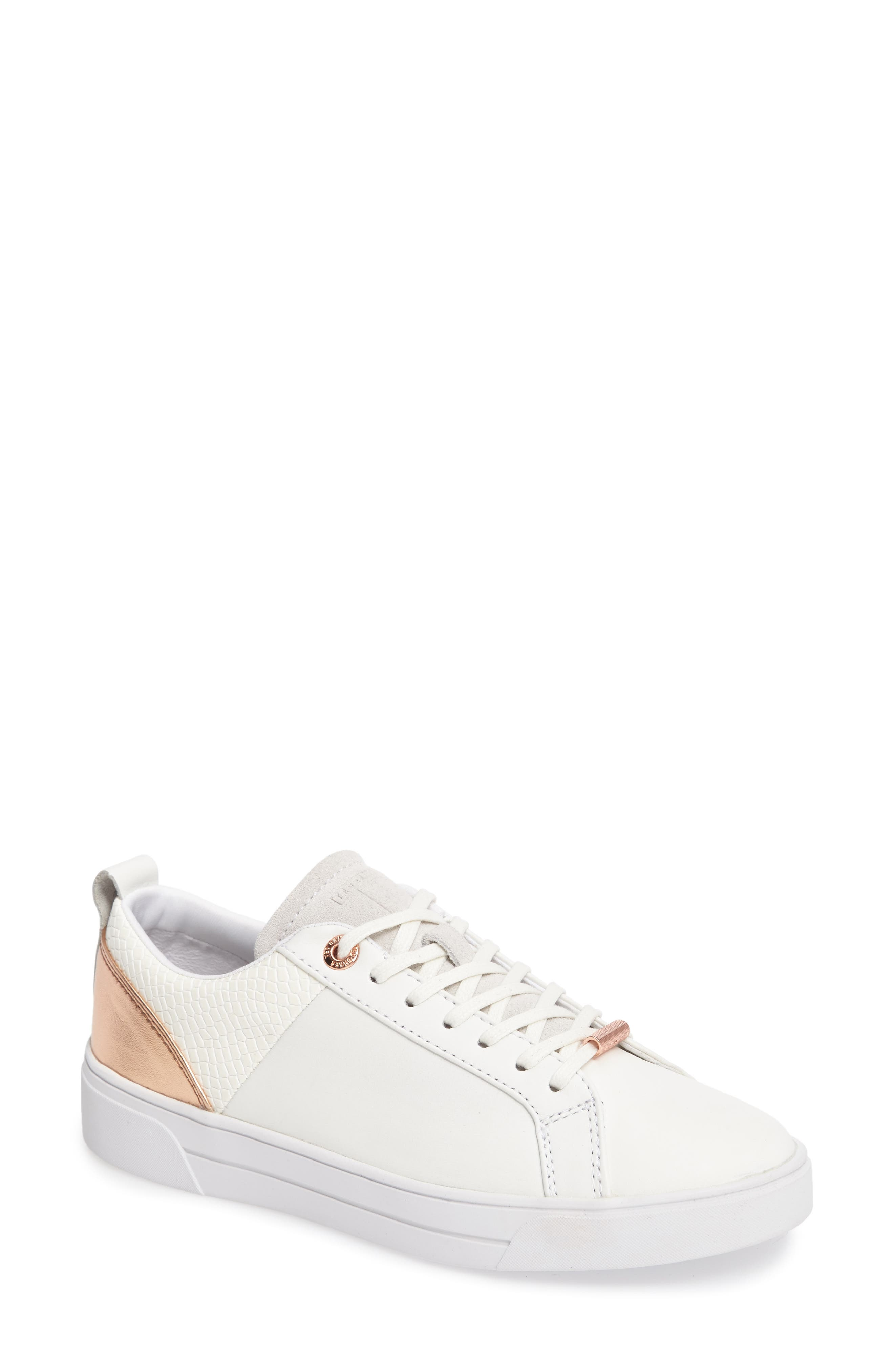 Alternate Image 1 Selected - Ted Baker London Kulei Lace-Up Sneaker (Women)