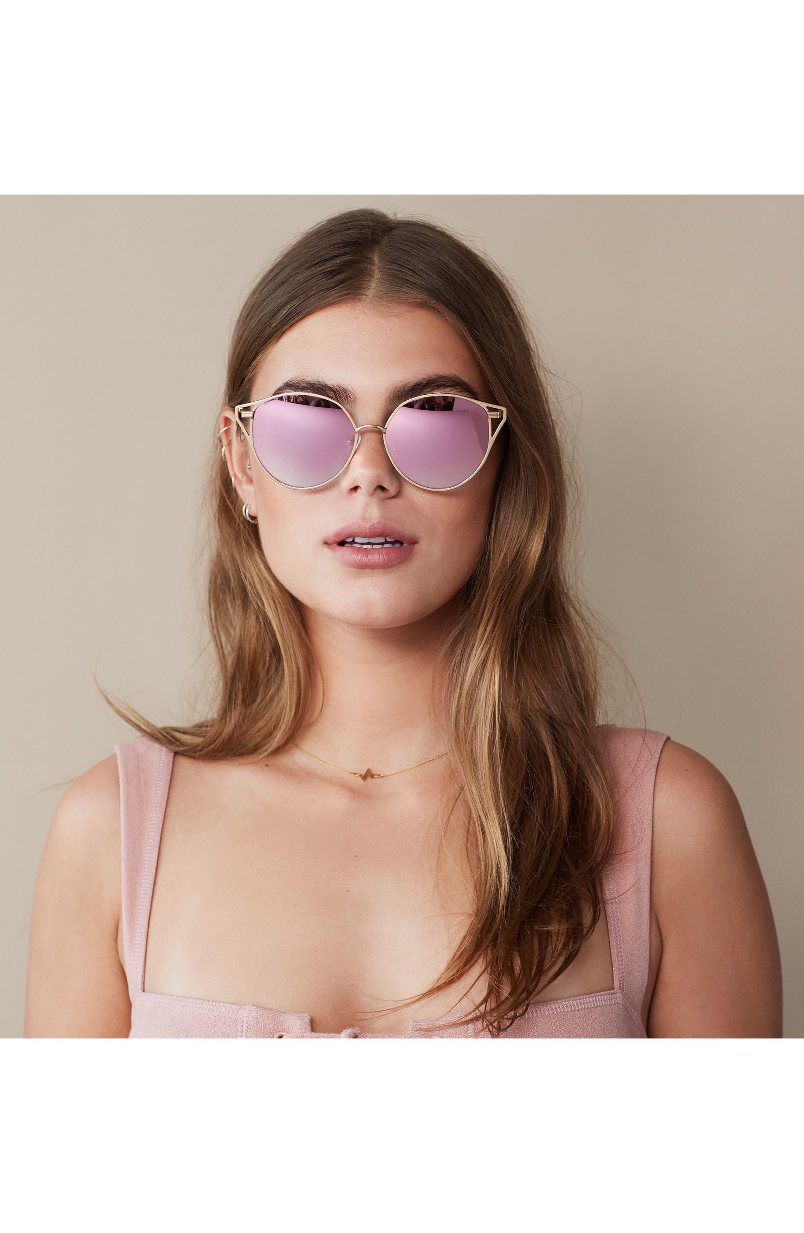 Alternate Image 3  - Sonix Ibiza 55mm Cat Eye Sunglasses