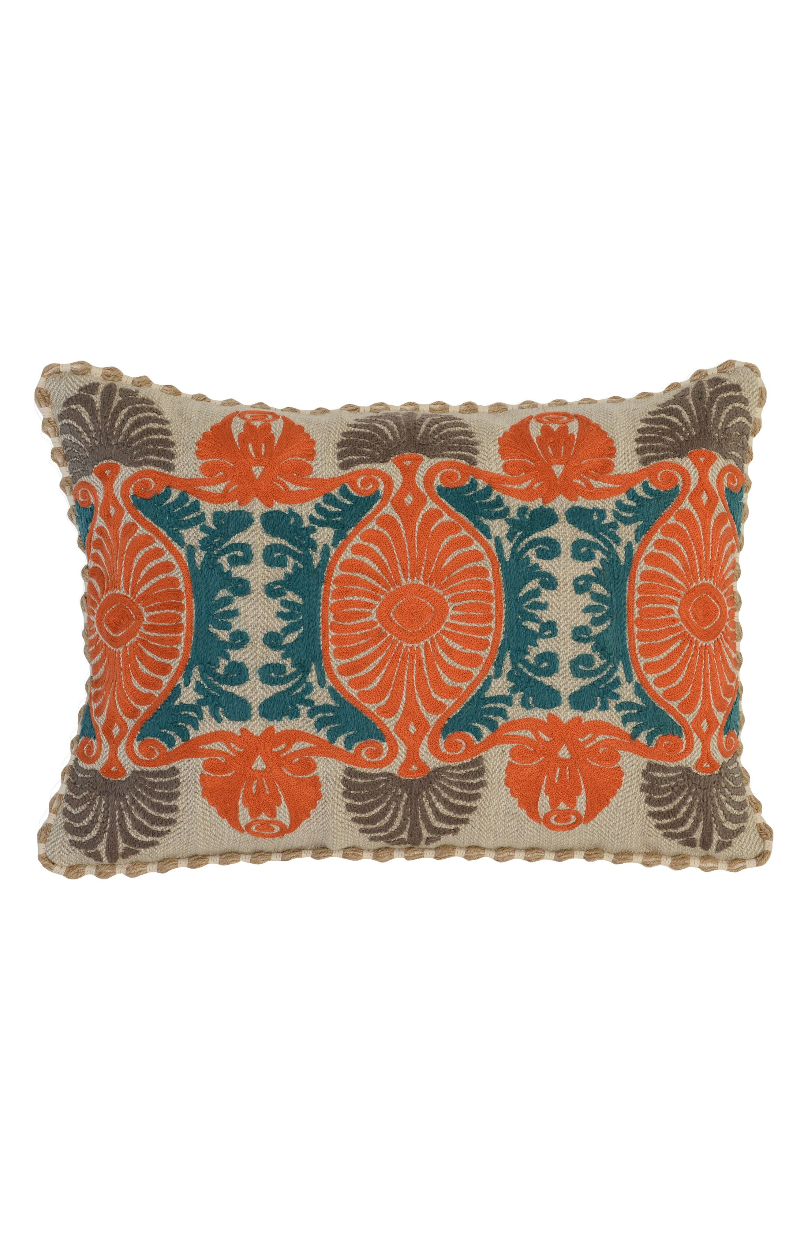 Alternate Image 1 Selected - Villa Home Collection Dhurri Accent Pillow