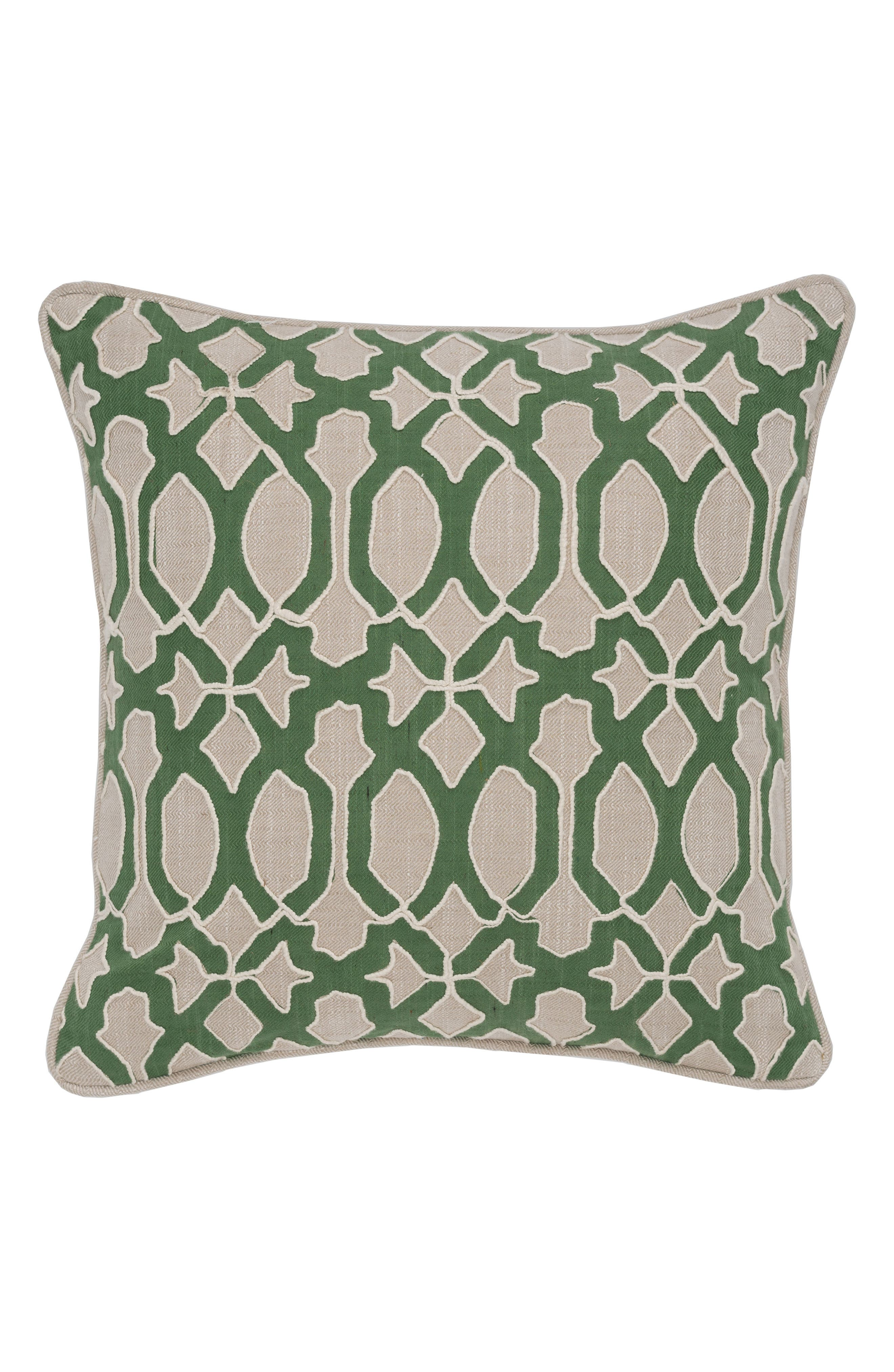 Ve Gibson Accent Pillow,                         Main,                         color, Green