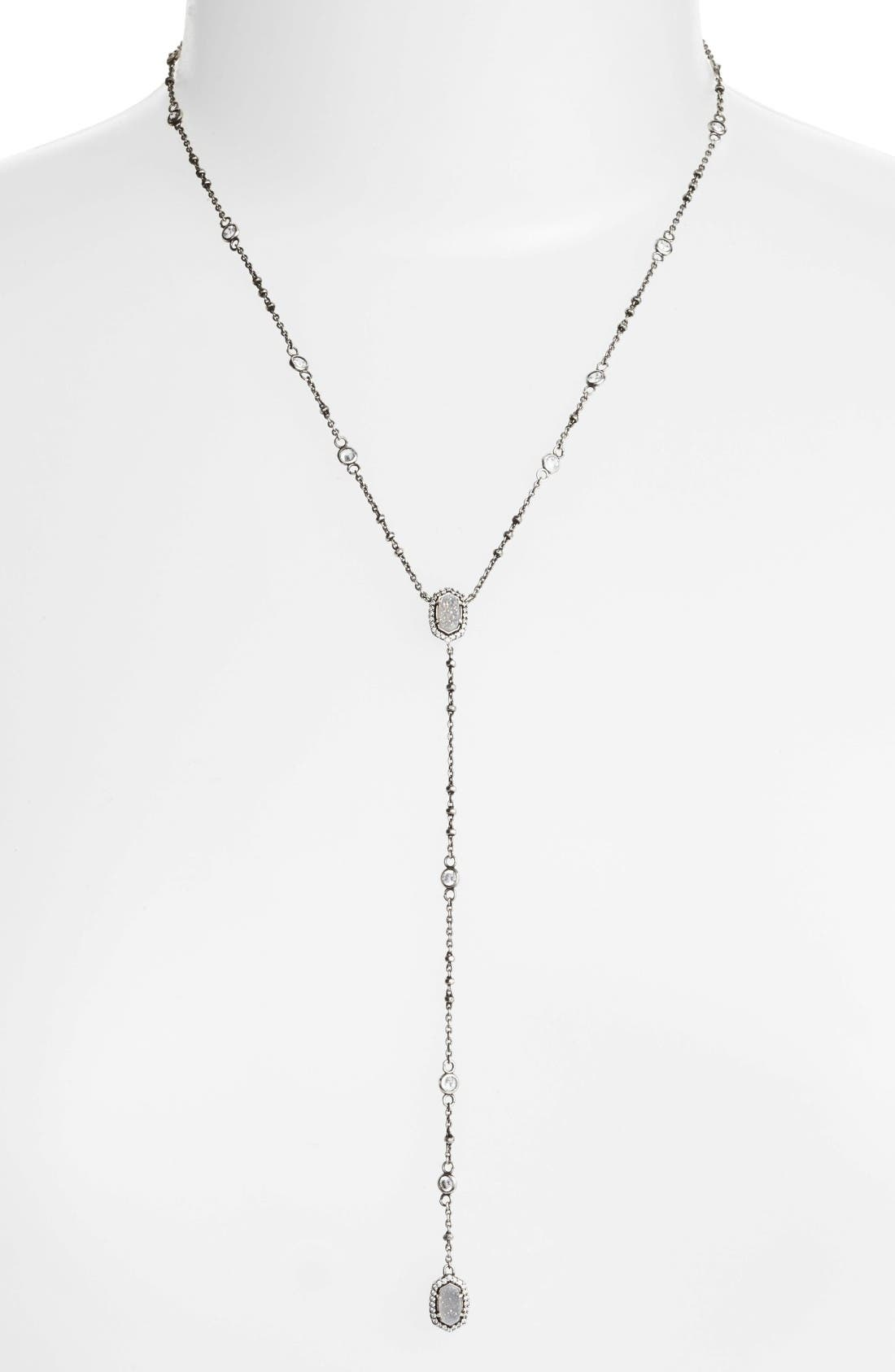 Kendra Scott 'Claudia' Crystal Y-Necklace