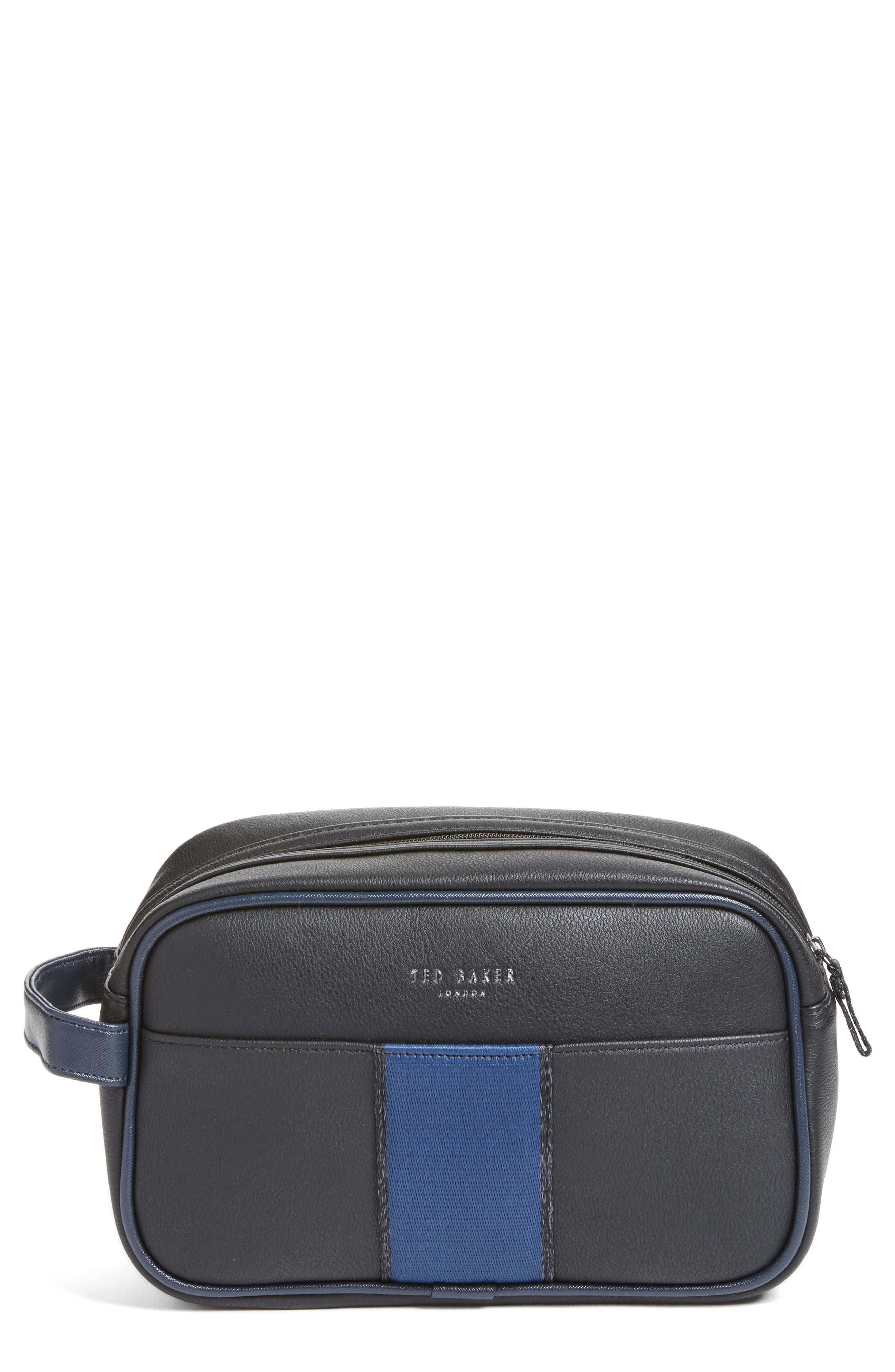 Stripez Webbing Travel Kit,                         Main,                         color, Black