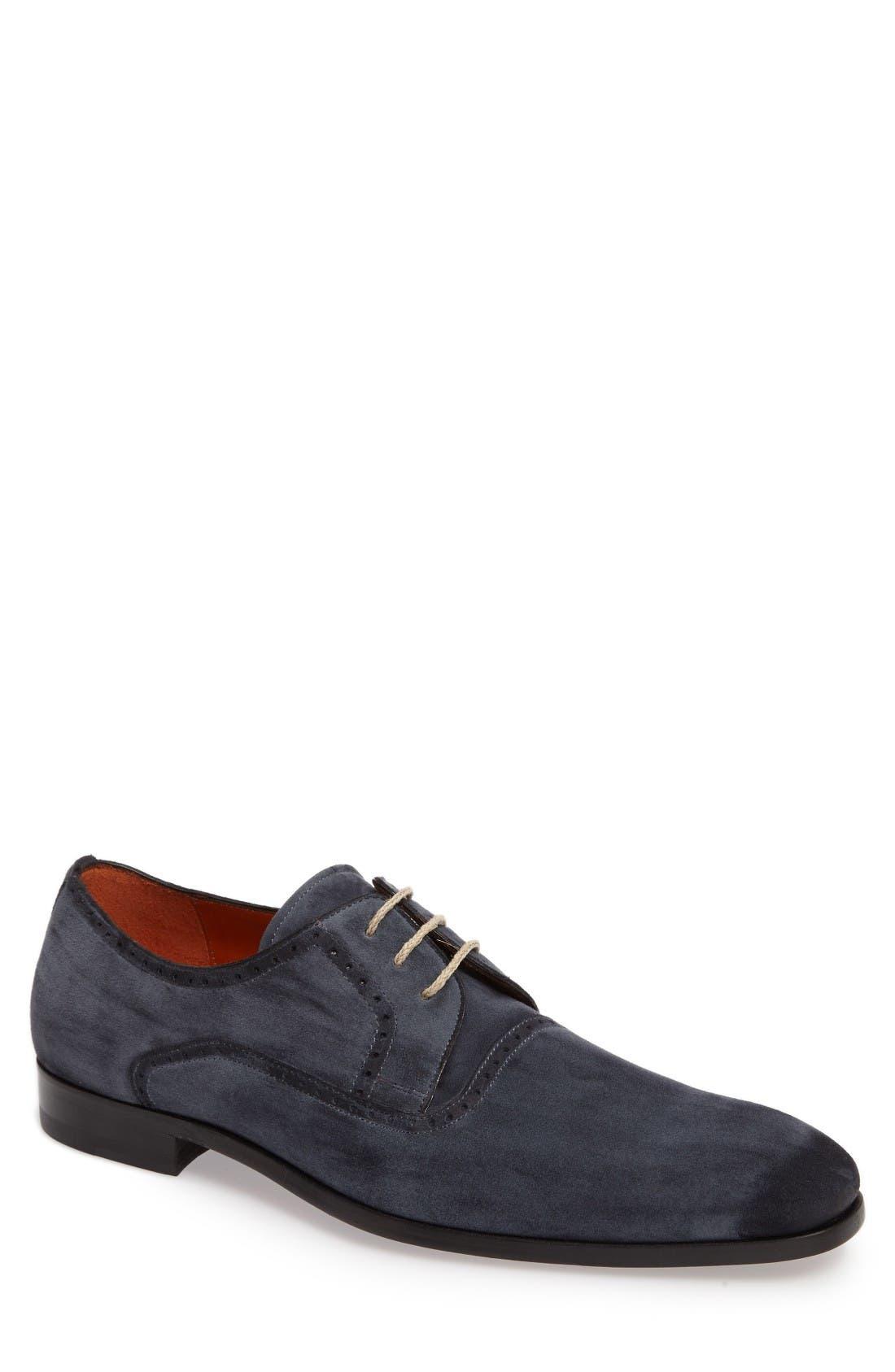 Alternate Image 1 Selected - Mezlan Euclid Plain Toe Derby (Men)