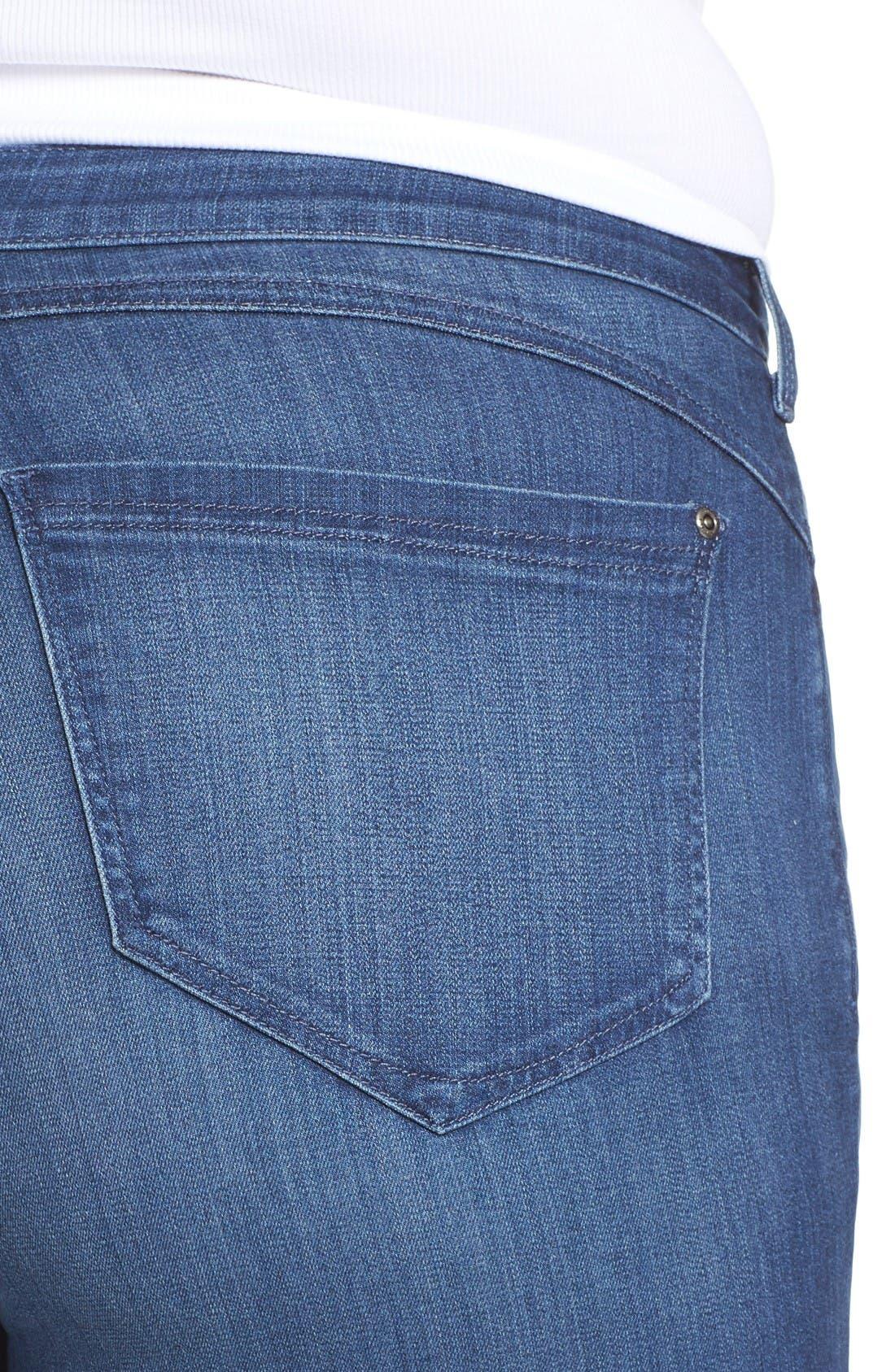 'Ami' Stretch Skinny Jeans,                             Alternate thumbnail 4, color,                             Nantes