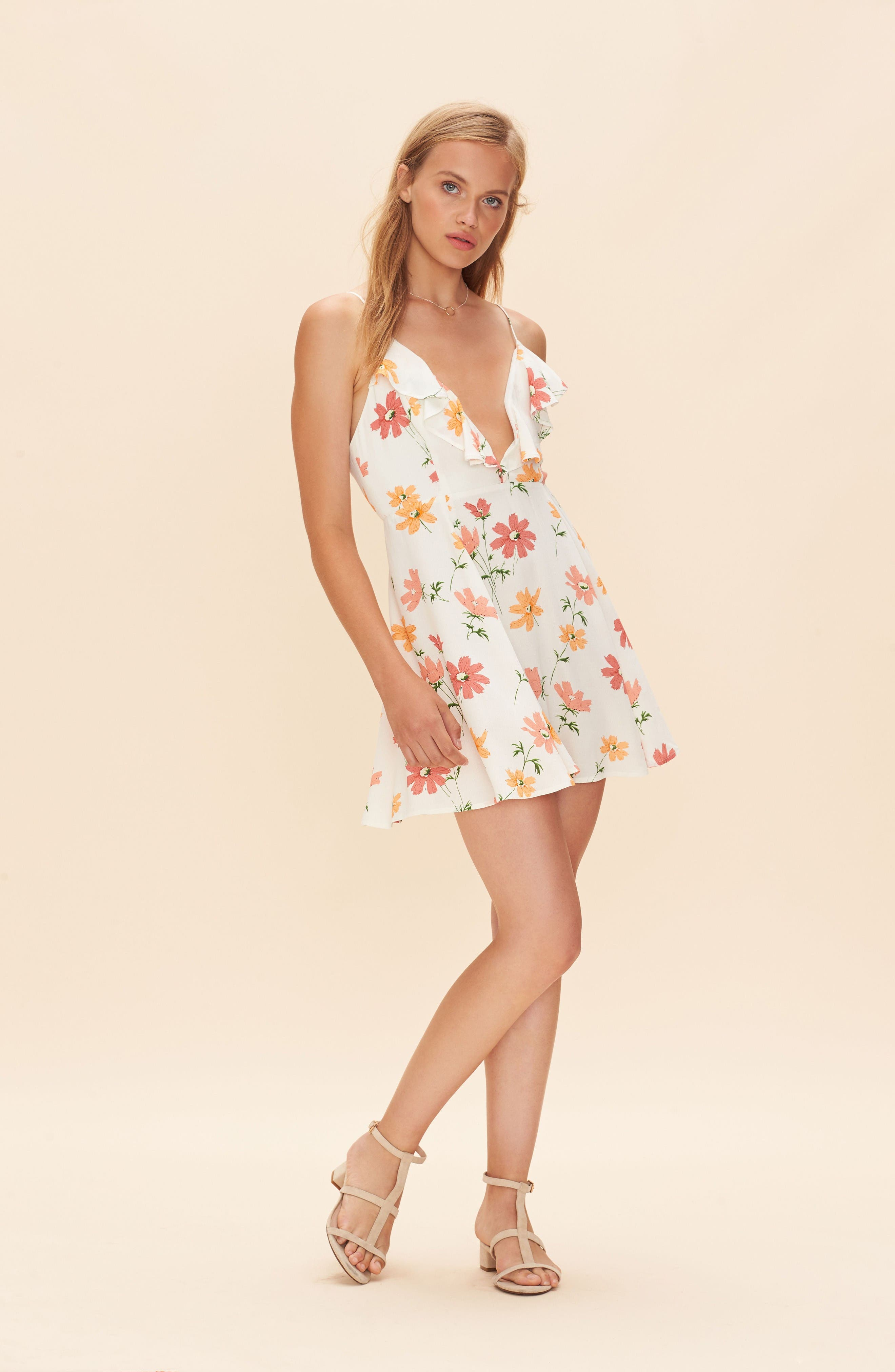 Alternate Image 2  - Privacy Please Sigbee Floral Dress