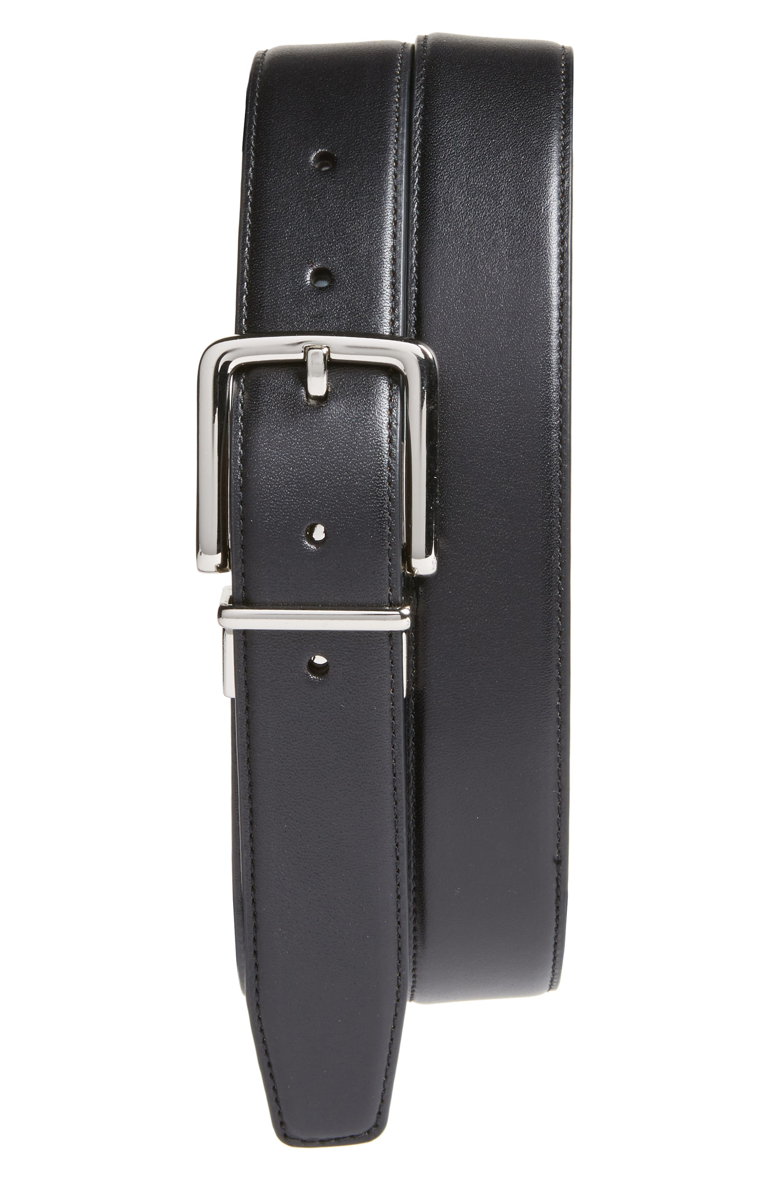Alternate Image 1 Selected - Cole Haan Reversible Leather Belt