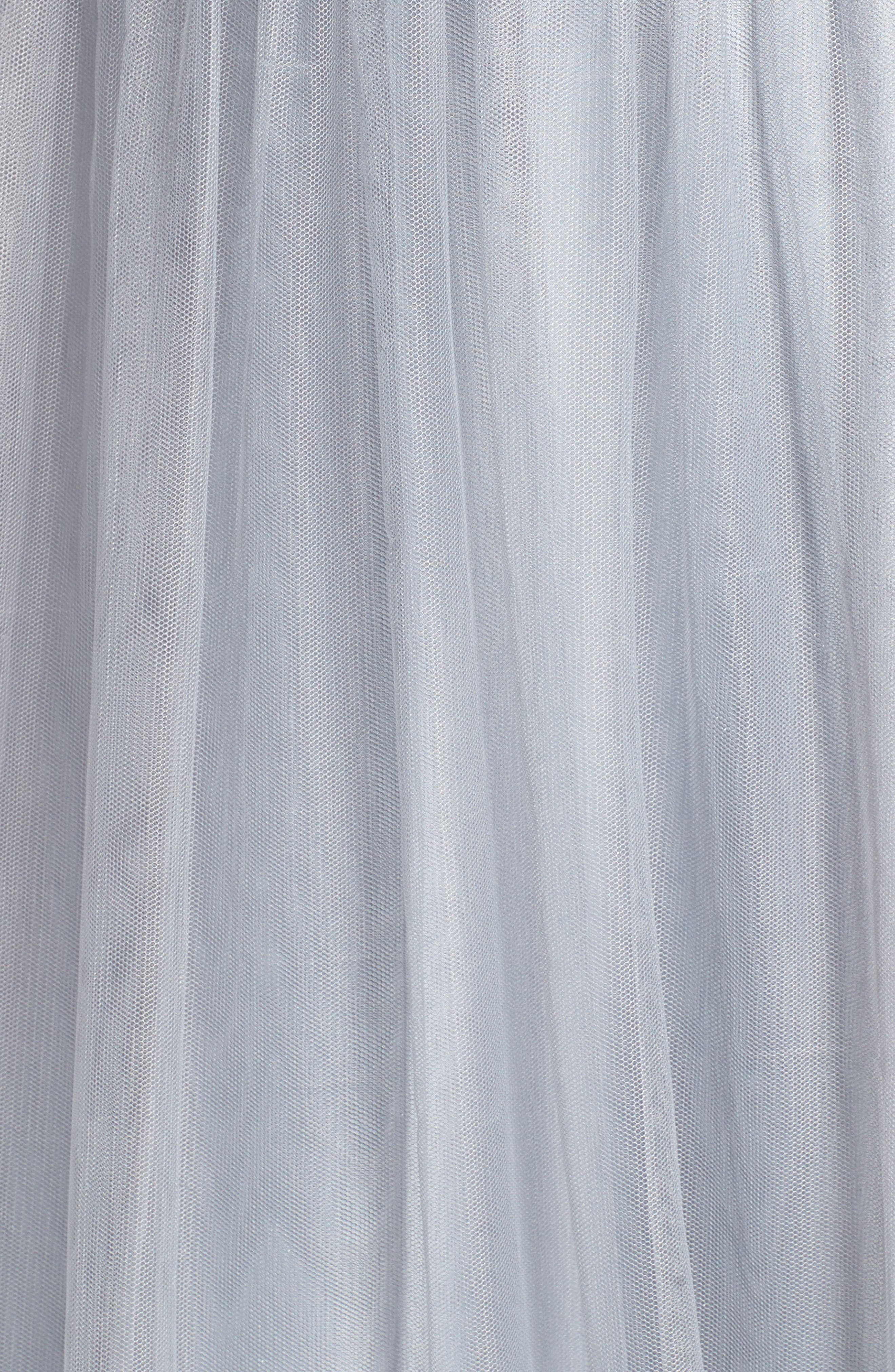 Alternate Image 5  - Hayley Paige Occasions Metallic Embellished Gown