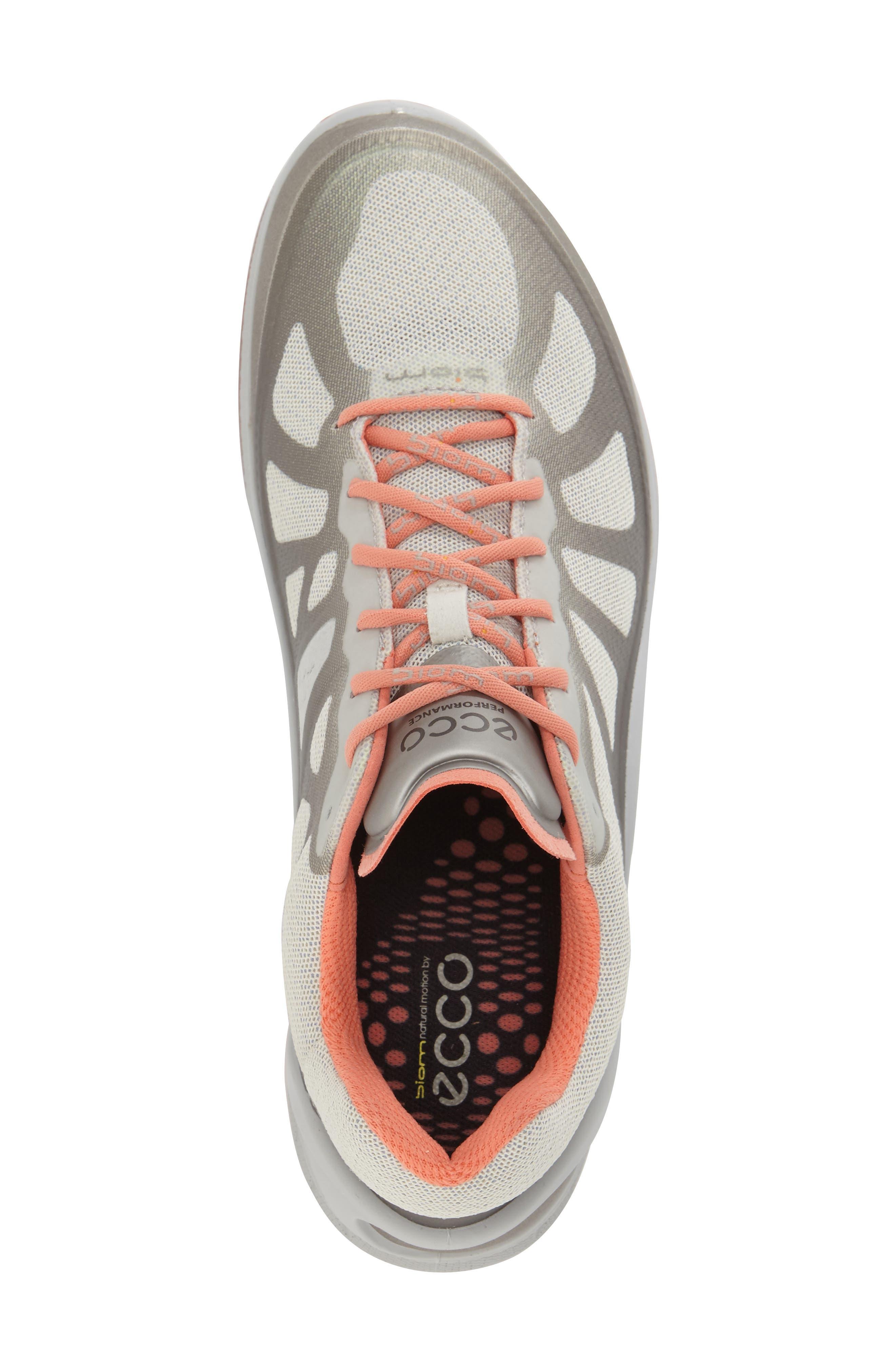 'BIOM Fjuel Racer' Sneaker,                             Alternate thumbnail 3, color,                             Silver Metallic Coral
