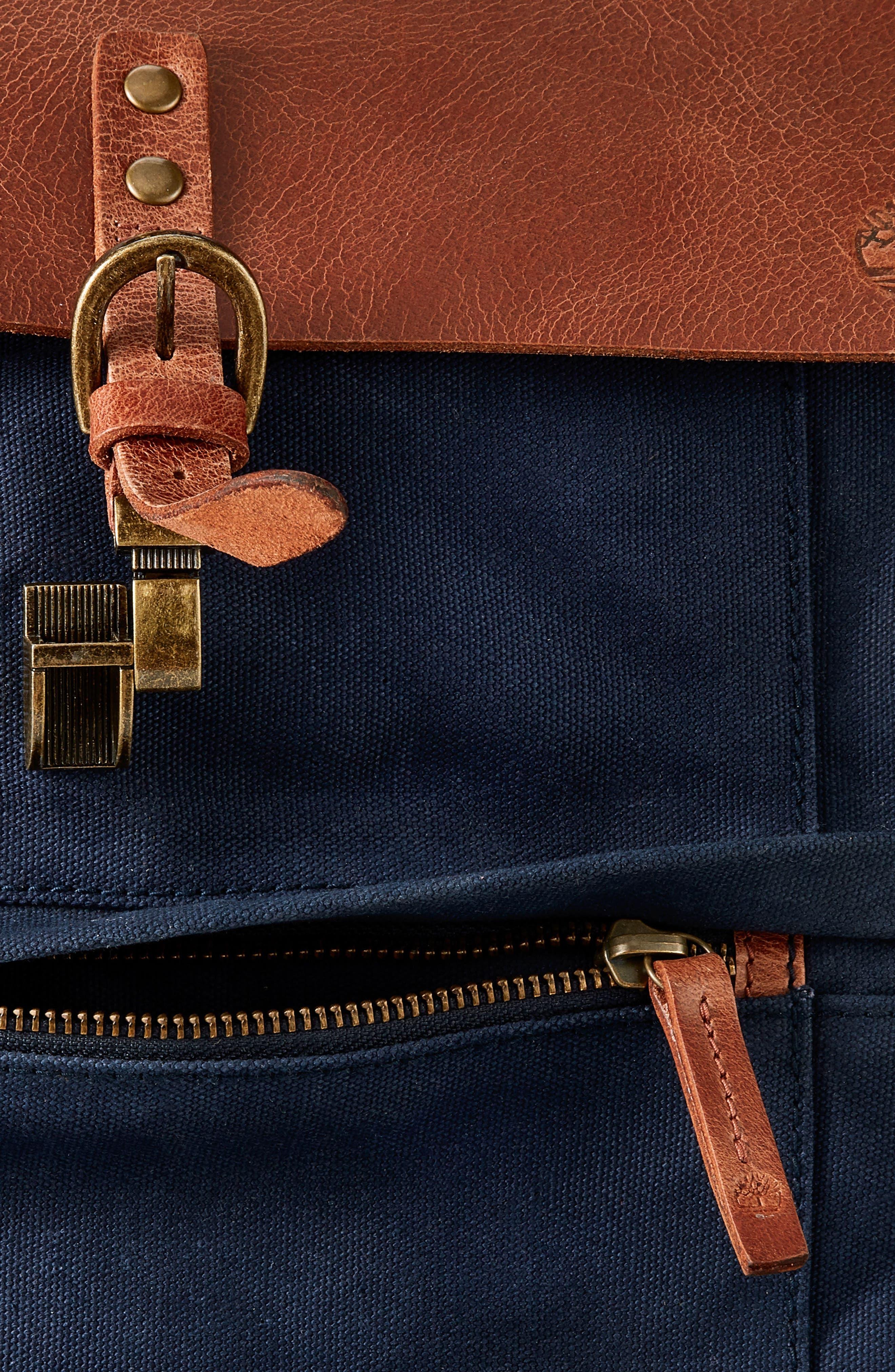 Nantasket Backpack,                             Alternate thumbnail 4, color,                             Black Iris