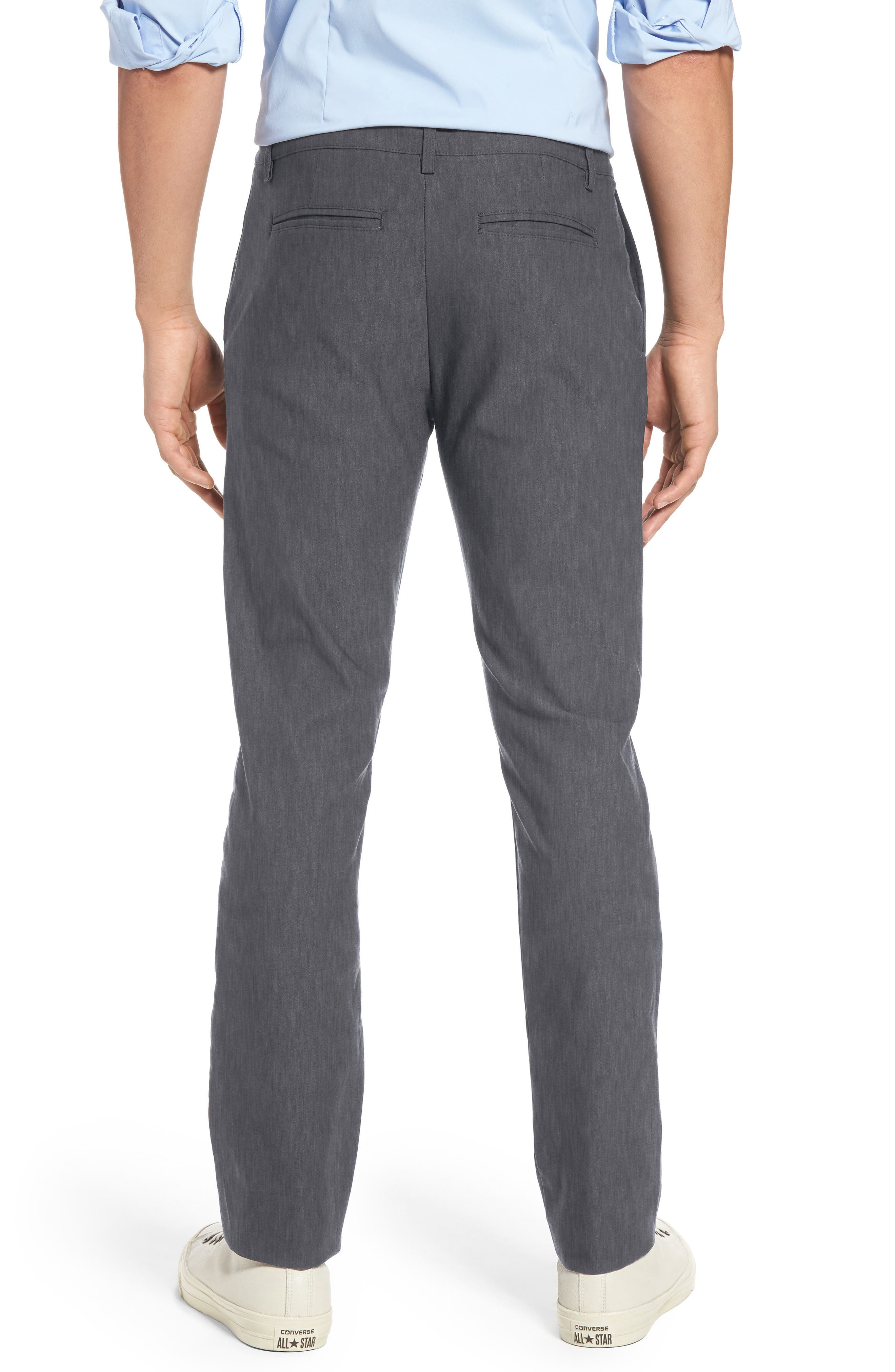Vice President Trim Fit Performance Chinos,                             Alternate thumbnail 2, color,                             Grey