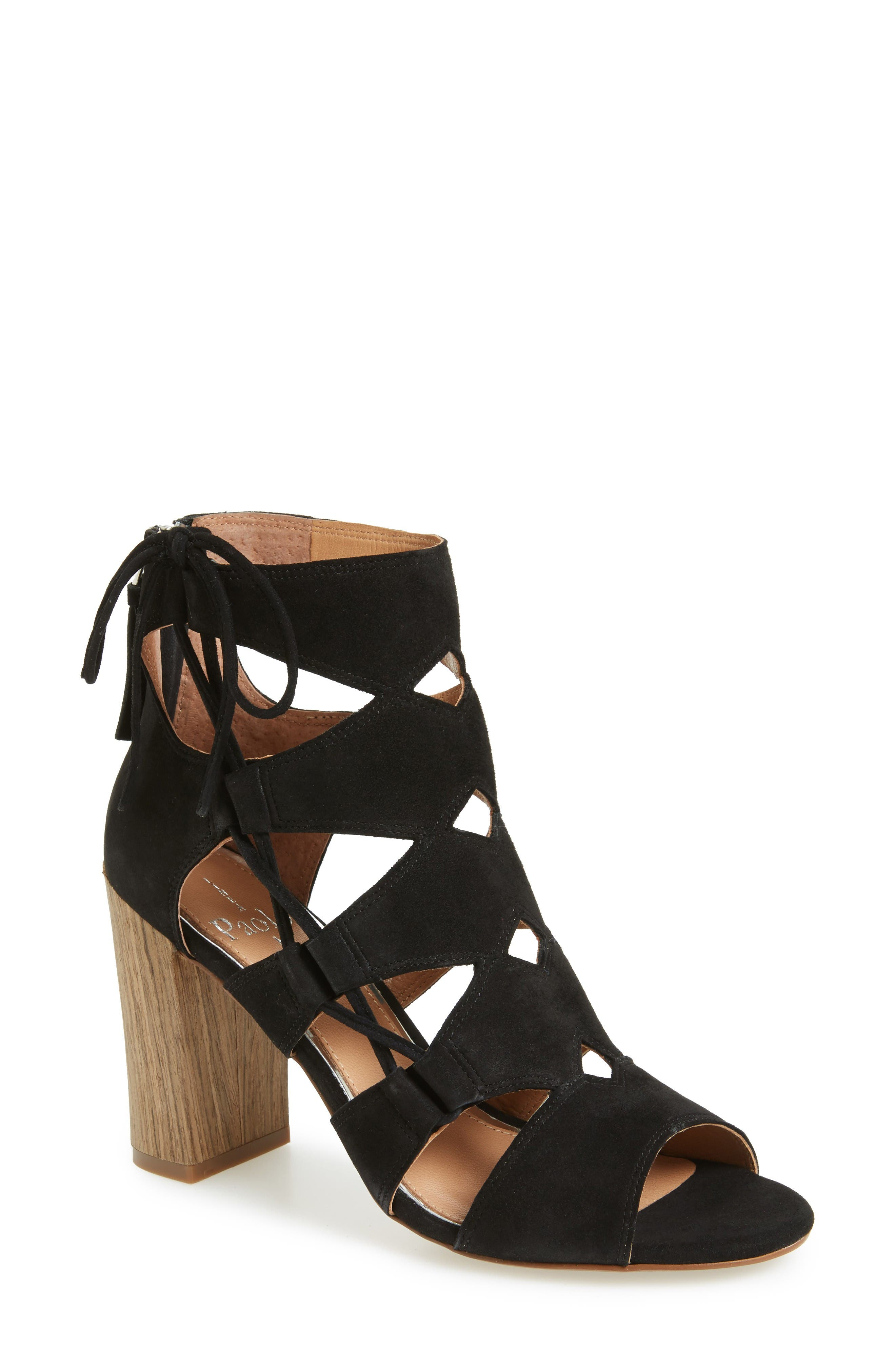 Alternate Image 1 Selected - Linea Paolo Hawley Cutout Sandal (Women)
