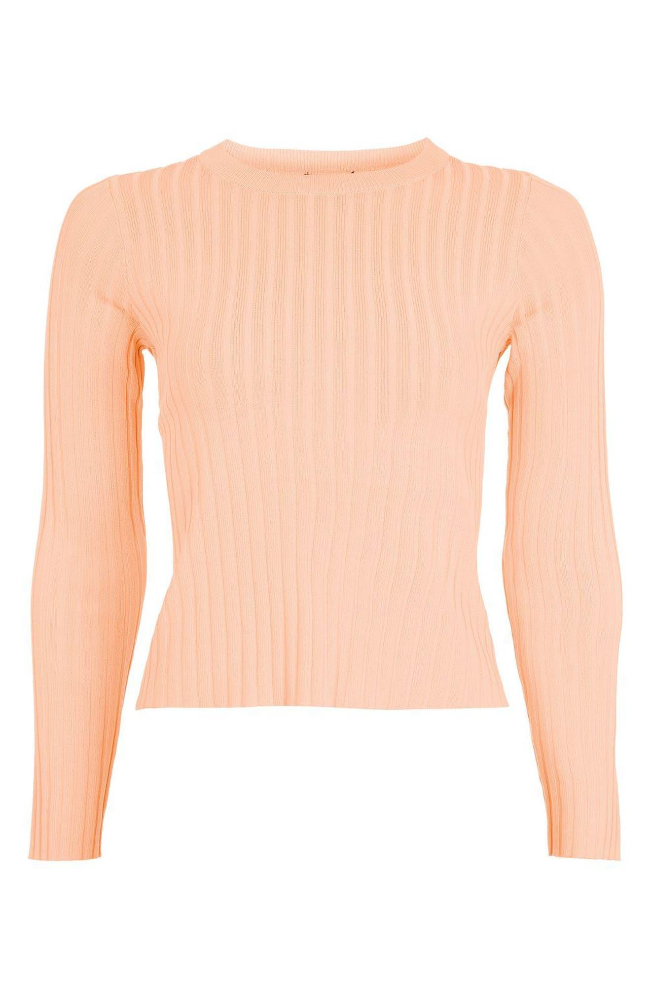 Alternate Image 4  - Topshop Strap Back Sweater