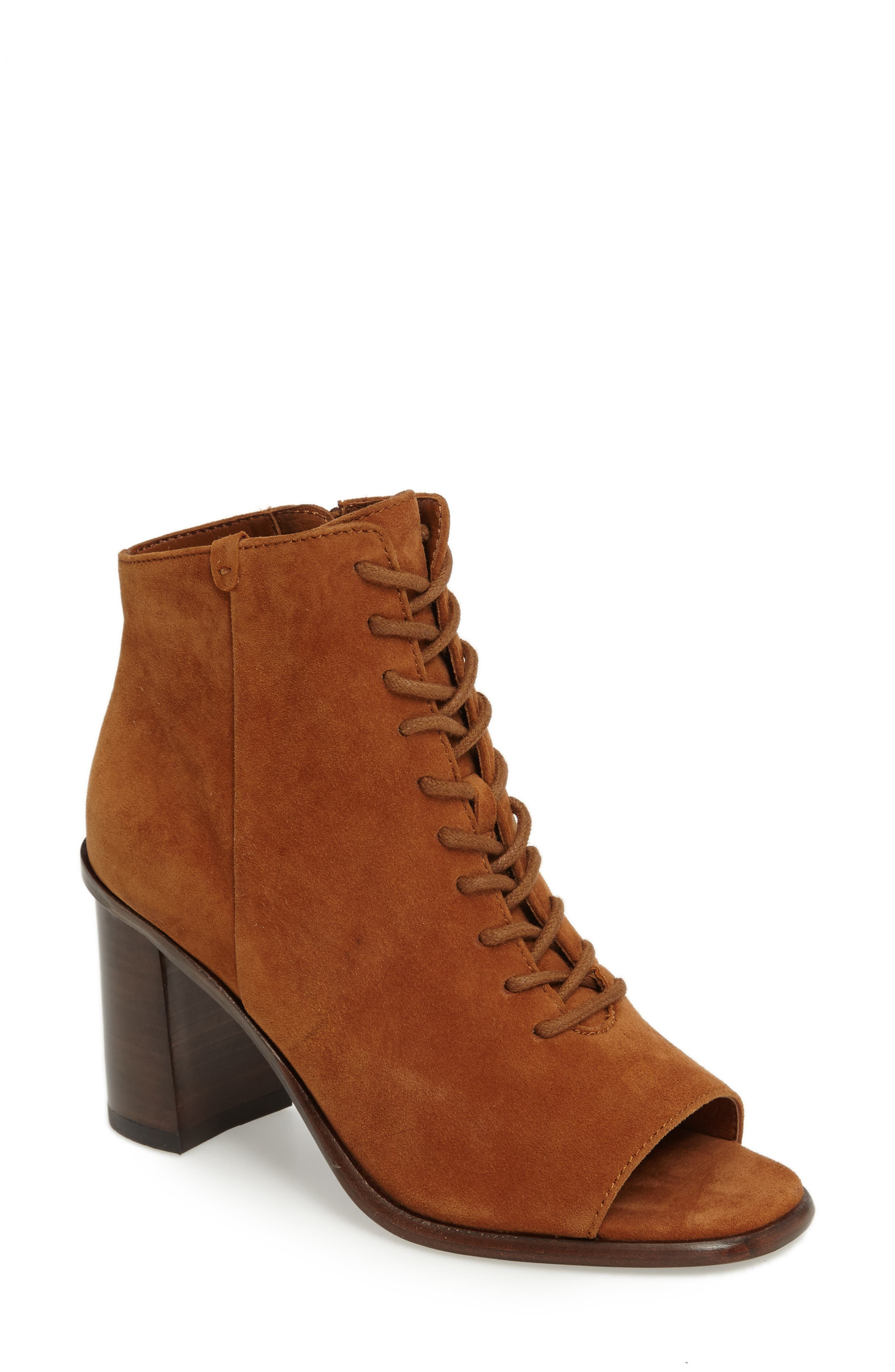 Frye Amy Open Toe Bootie (Women)