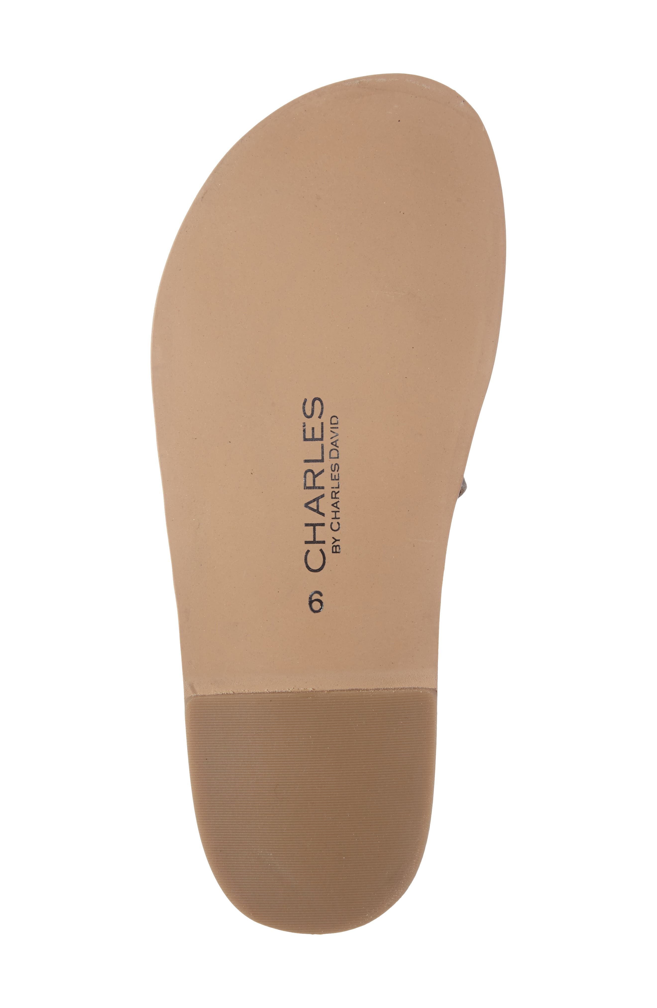 Alternate Image 4  - Charles by Charles David Steeler Ankle Wrap Sandal (Women)
