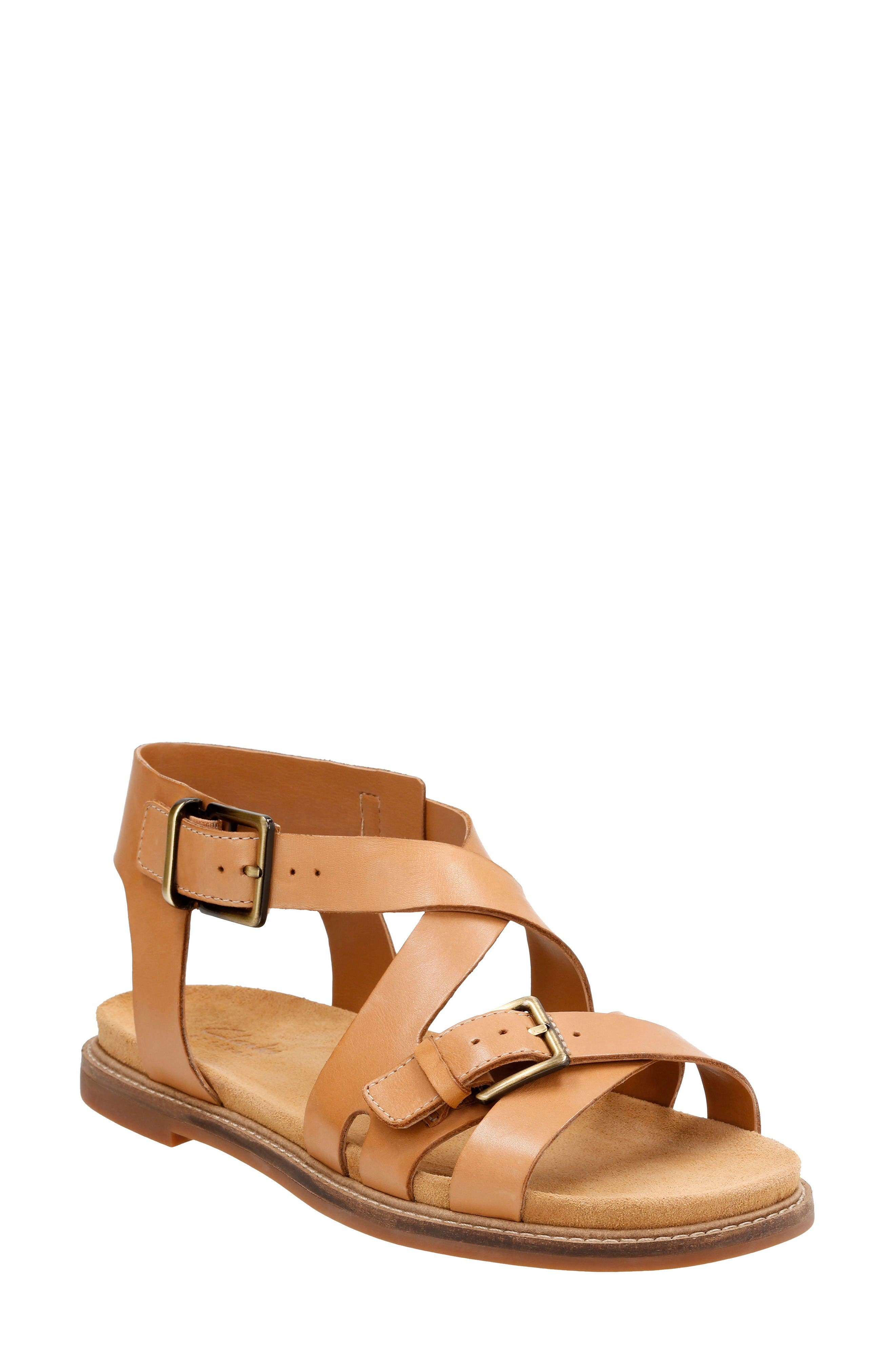 Clarks® Corsio Bambi Strappy Sandal (Women)
