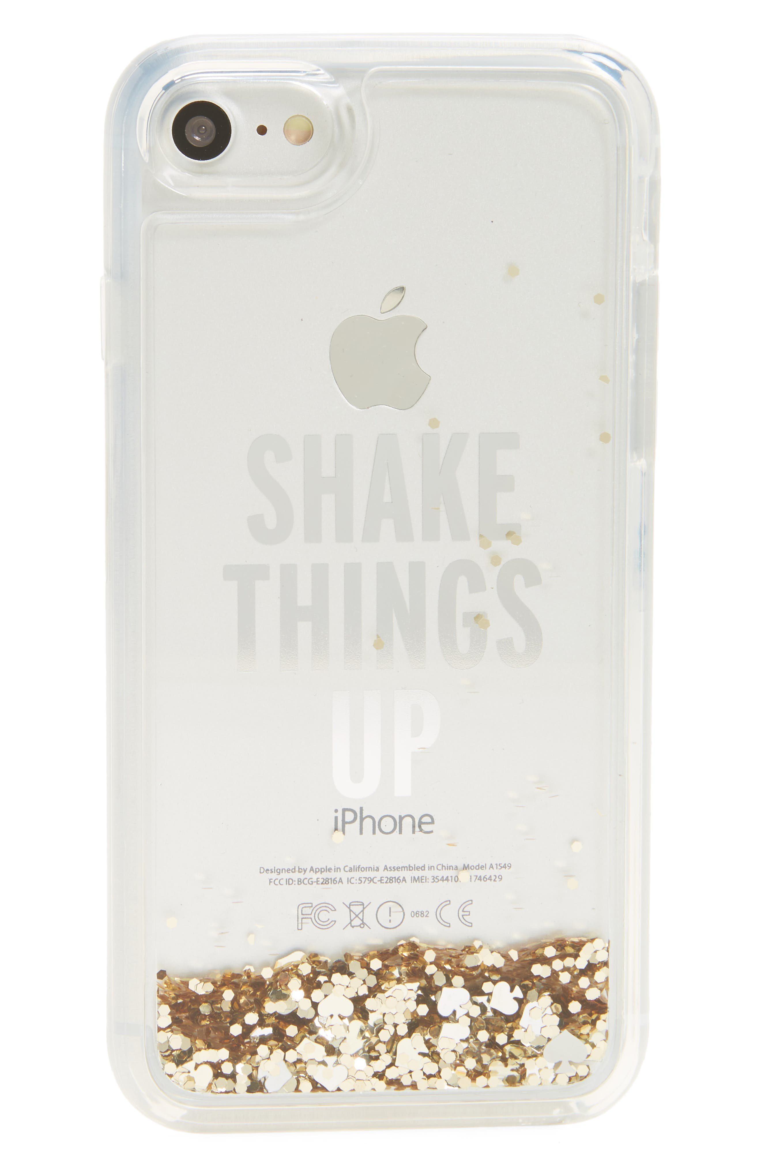 Alternate Image 1 Selected - kate spade new york shake things up iPhone 7 case