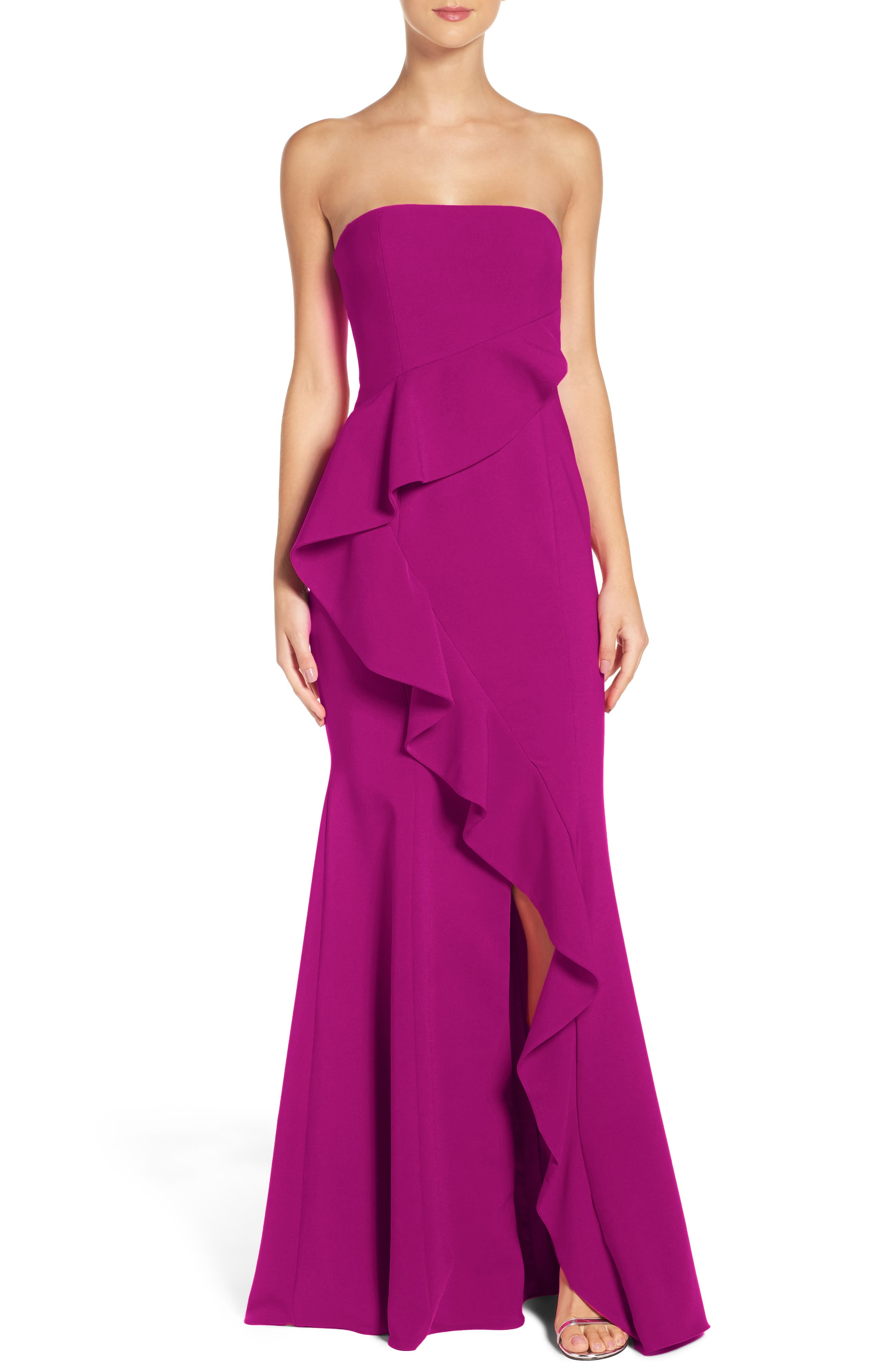 Alternate Image 1 Selected - Jay Godfrey Torres Strapless Gown