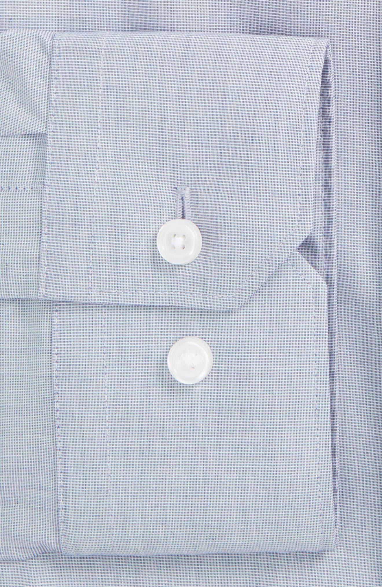 Alternate Image 4  - Calibrate Extra Trim Fit Stretch No-Iron Dress Shirt
