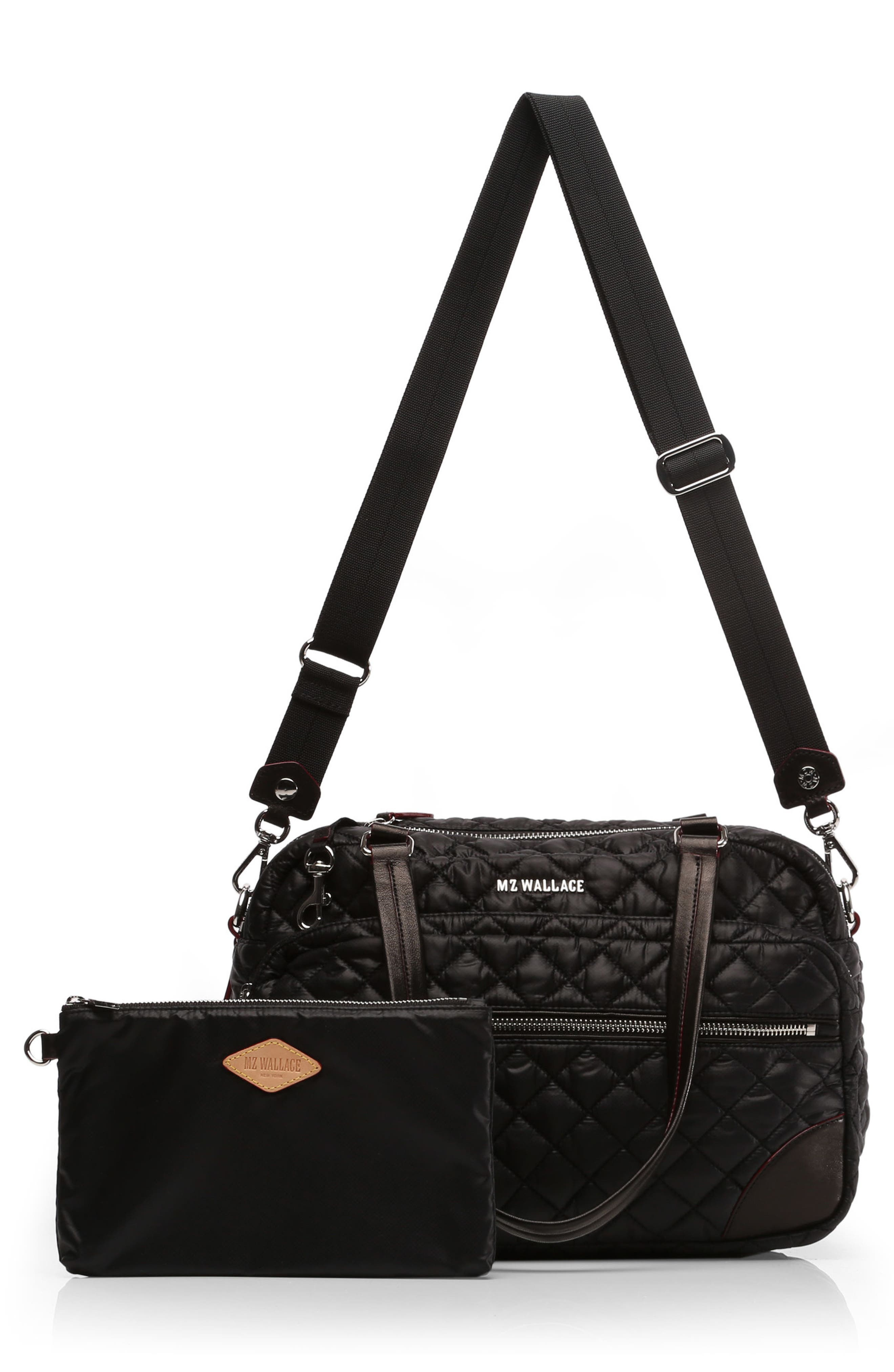 Alternate Image 6  - MZ Wallace Medium Crosby Quilted Oxford Nylon Crossbody Bag