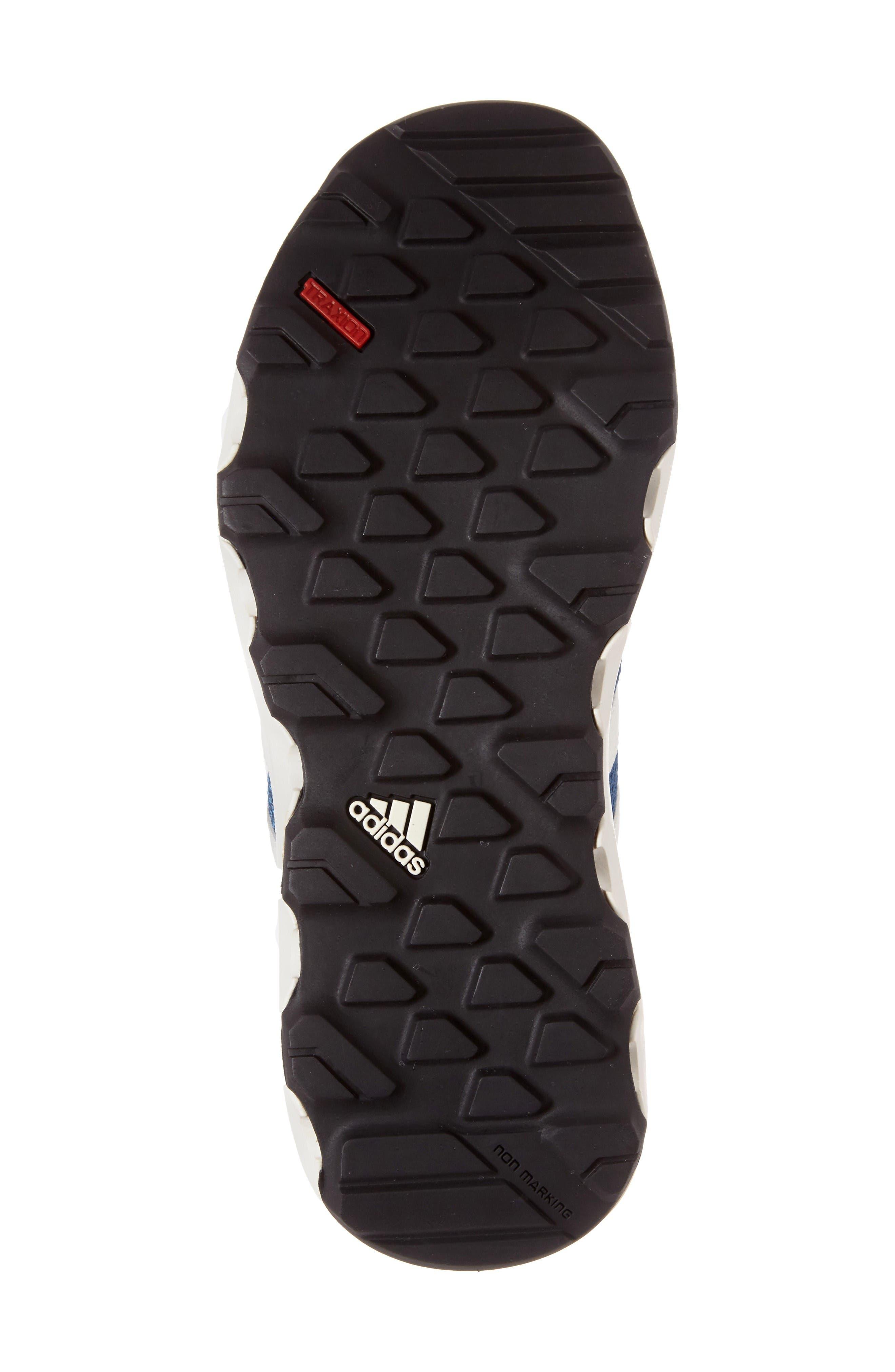 Terrex Climacool<sup>®</sup> Voyager Sneaker,                             Alternate thumbnail 4, color,                             Core Blue/ Chalk White/ Lime
