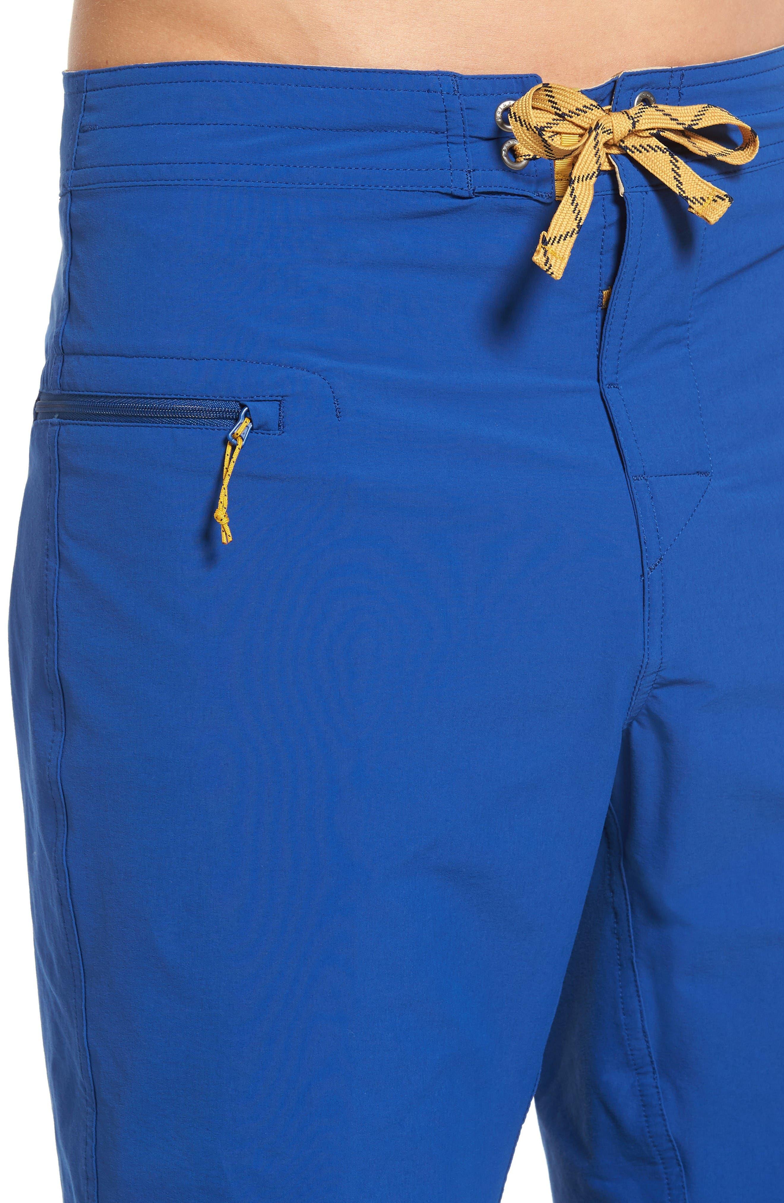 Wavefarer Board Shorts,                             Alternate thumbnail 4, color,                             Blue