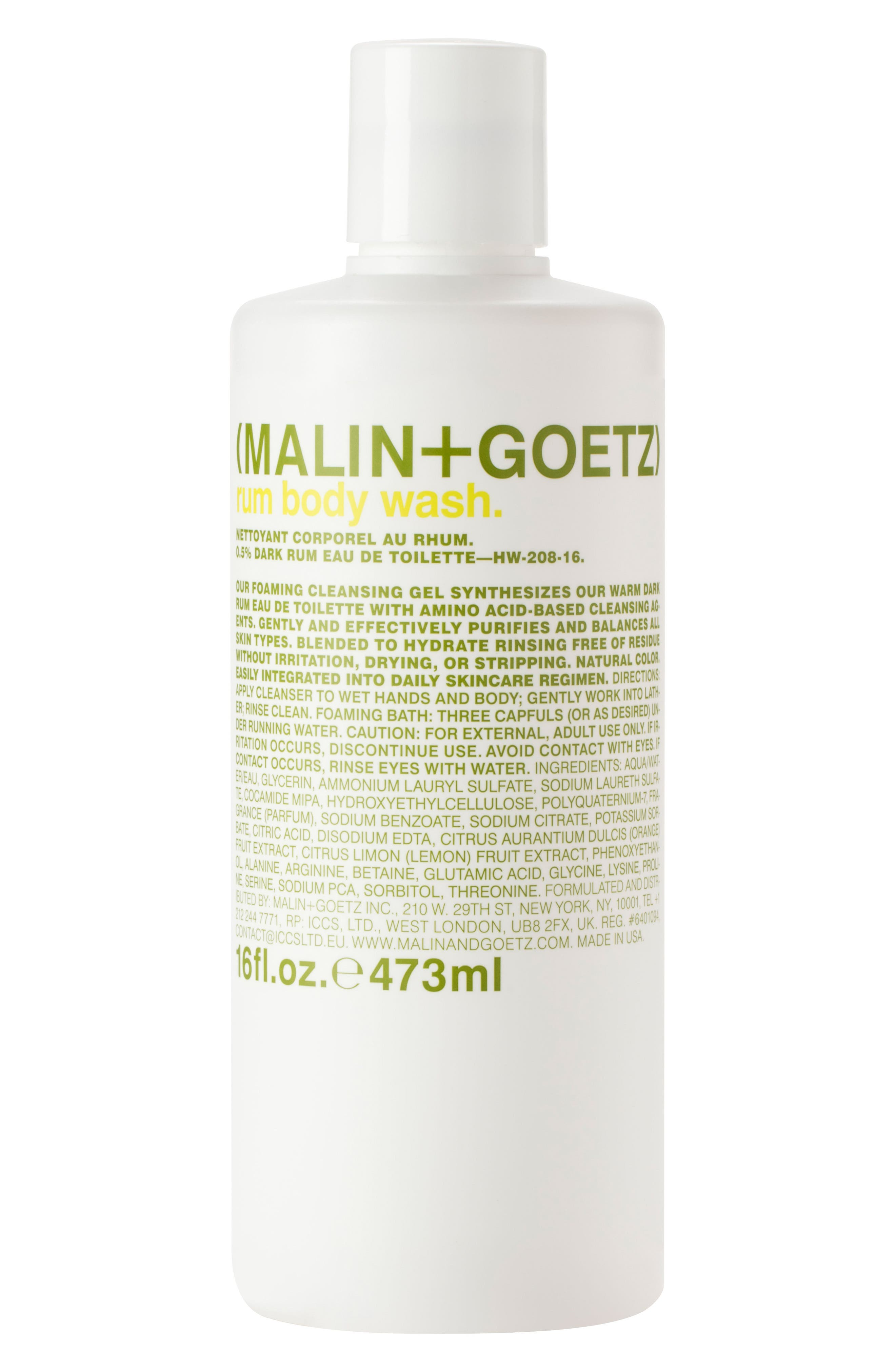 Main Image - SPACE.NK.apothecary Malin + Goetz Rum Body Wash
