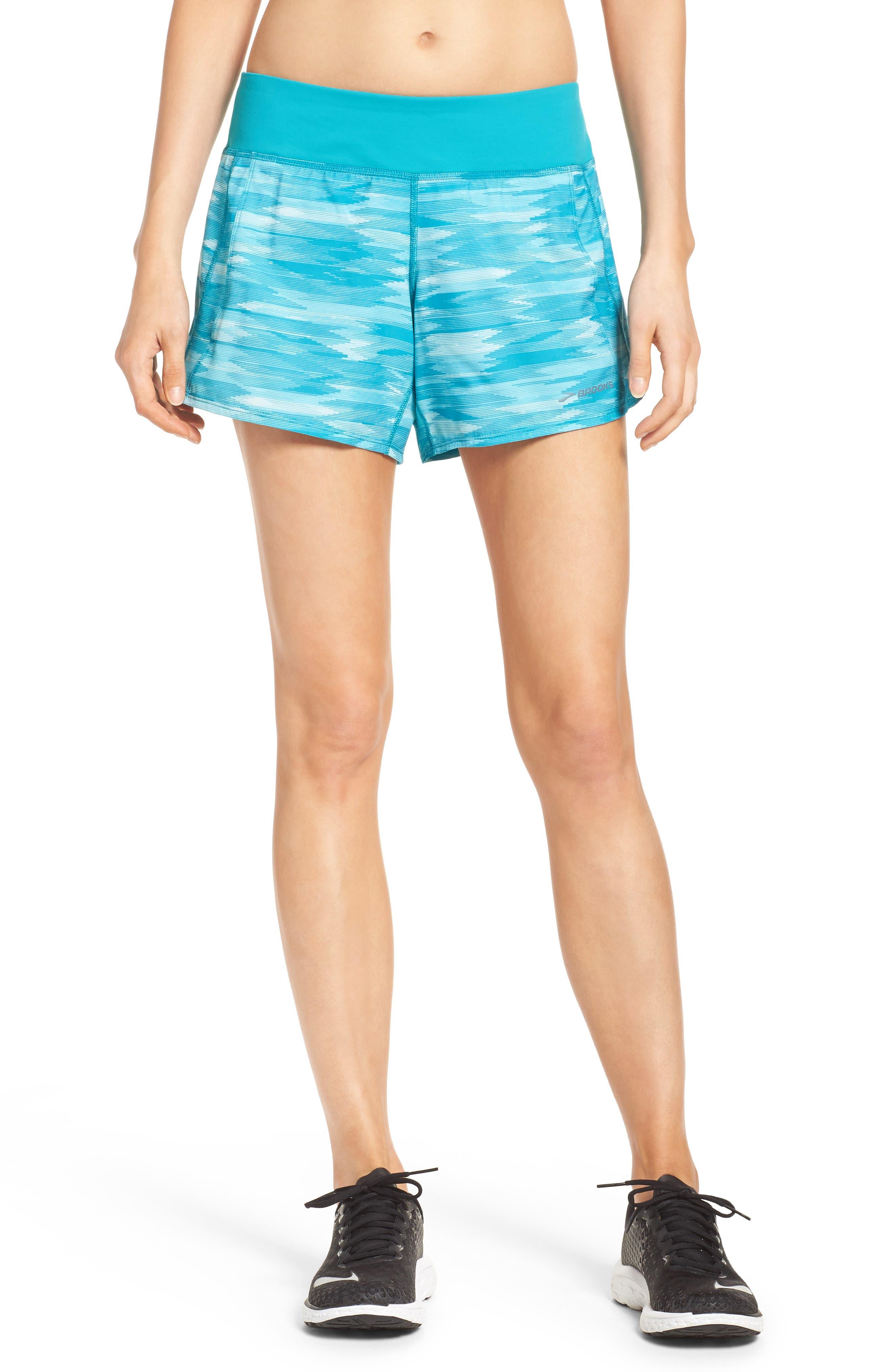 Chaser Running Shorts,                         Main,                         color, Tile Ikat