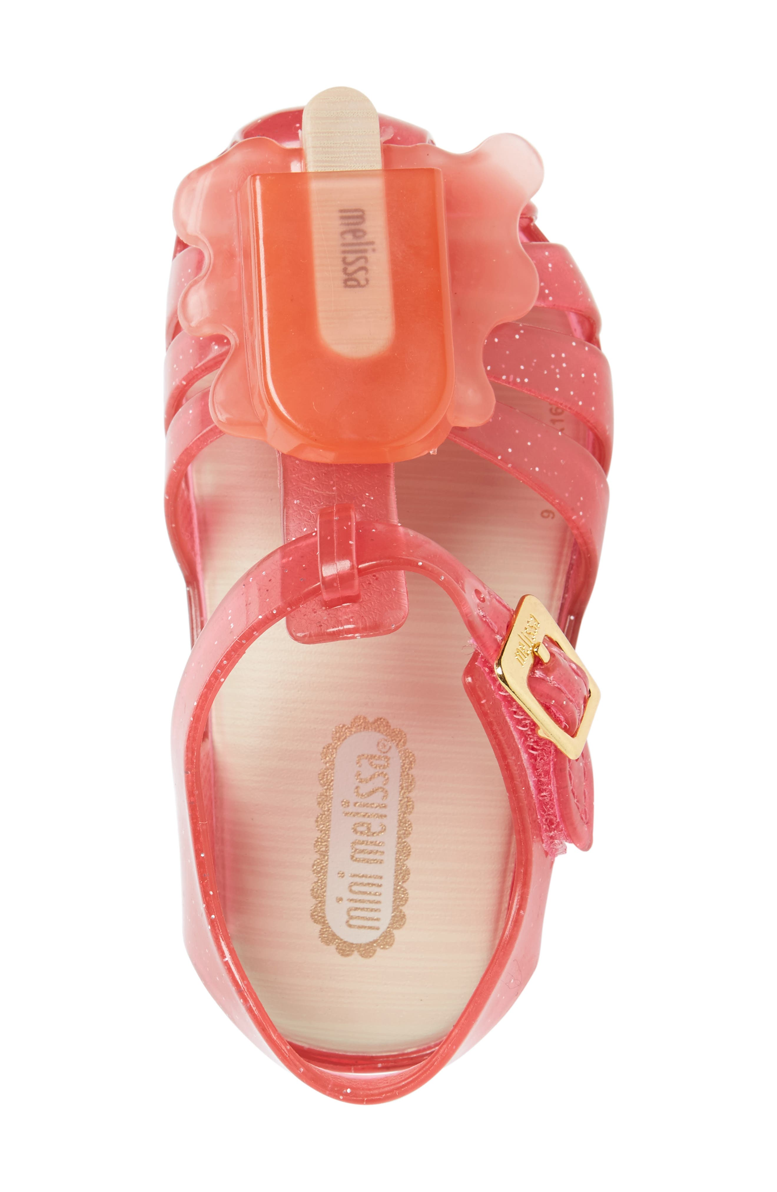 Alternate Image 3  - Mini Melissa 'Aranha' Mary Jane Sandal (Walker & Toddler)