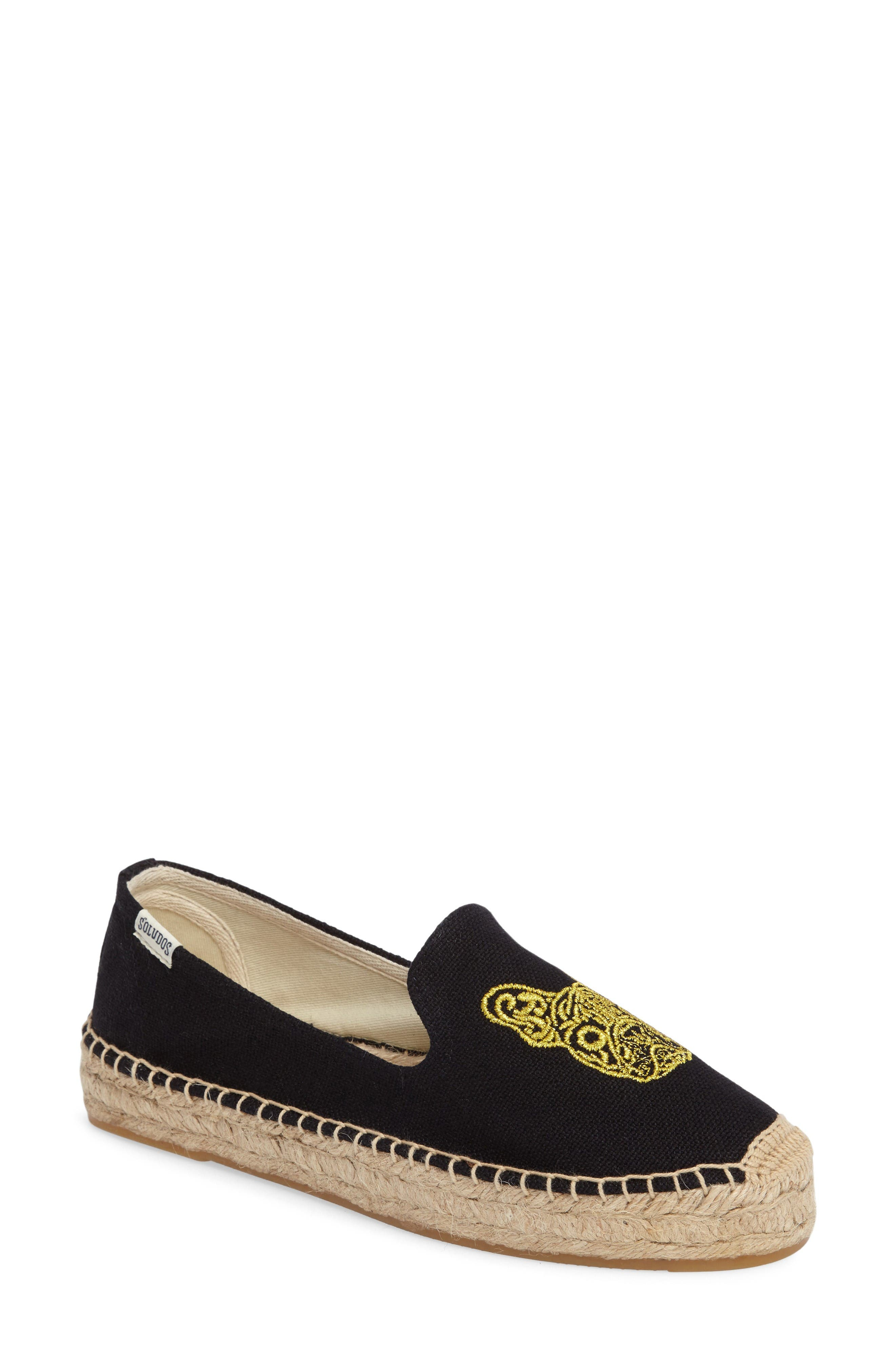 Alternate Image 1 Selected - Soludos Frenchie Espadrille Loafer (Women)