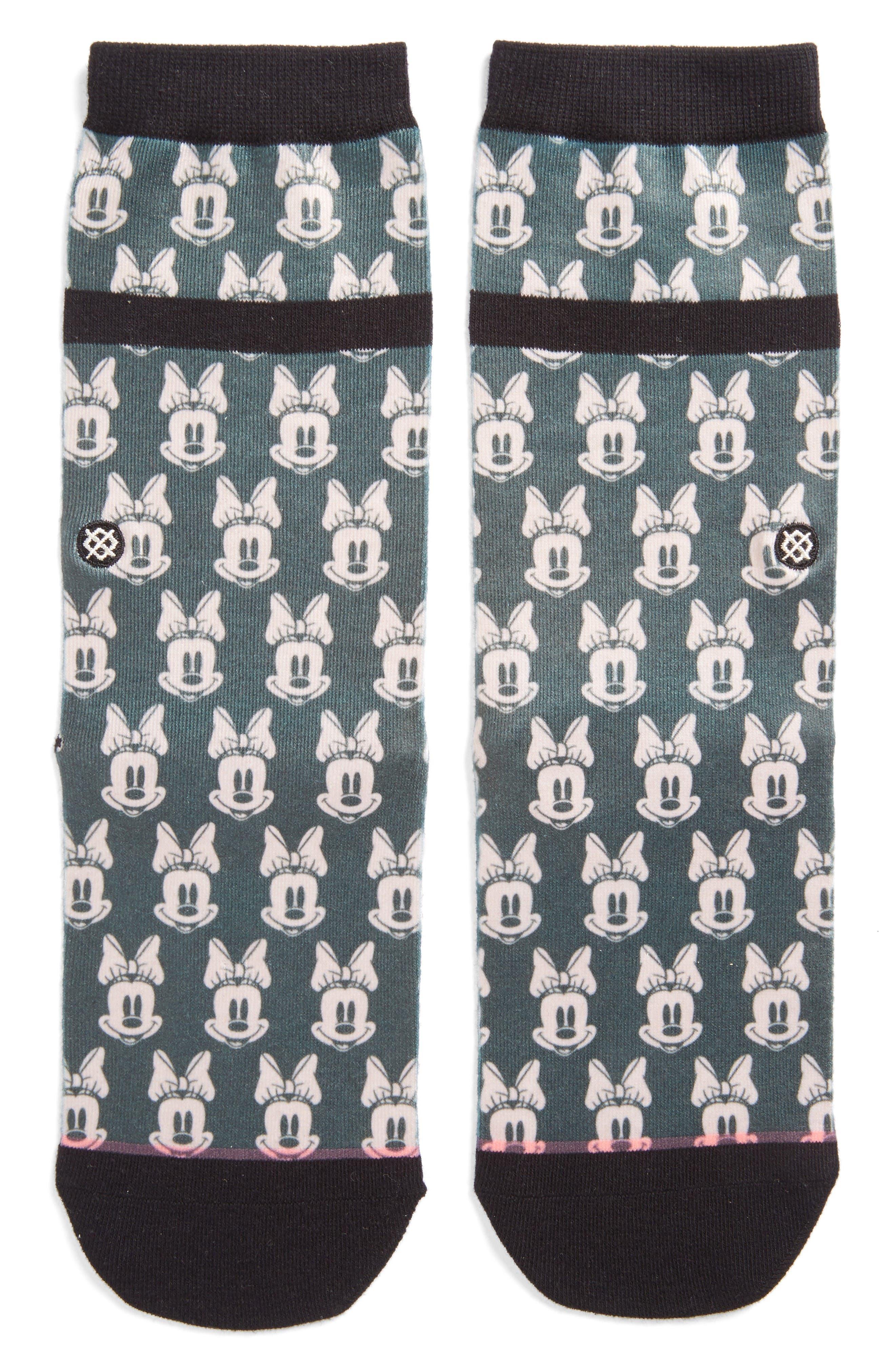 Mini Minnies Socks,                         Main,                         color, Green