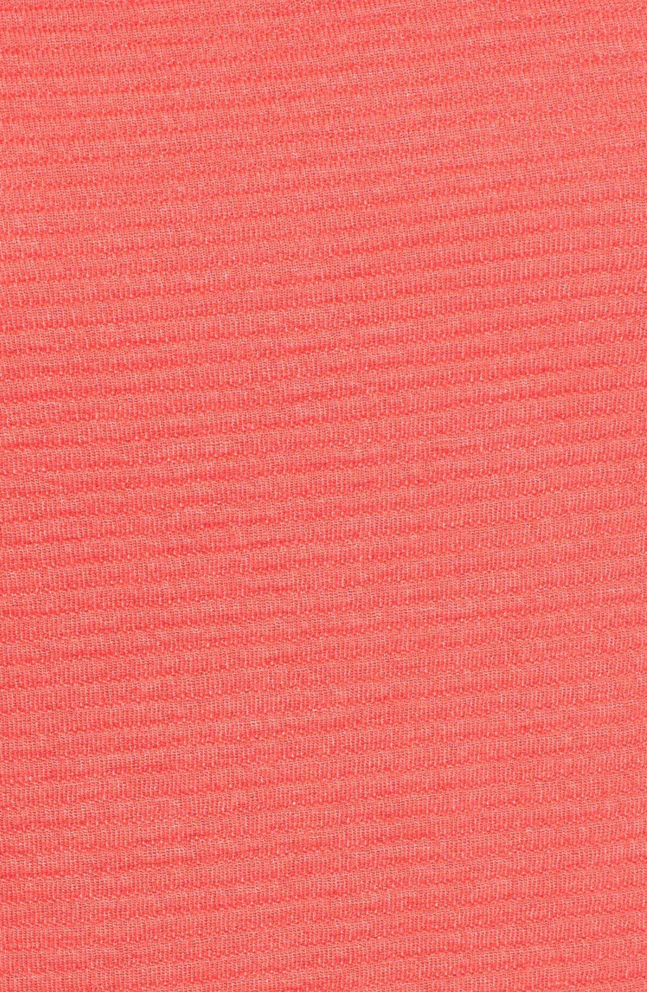 Alternate Image 5  - Pleione Stripe Knit Bell Sleeve Top (Regular & Petite)