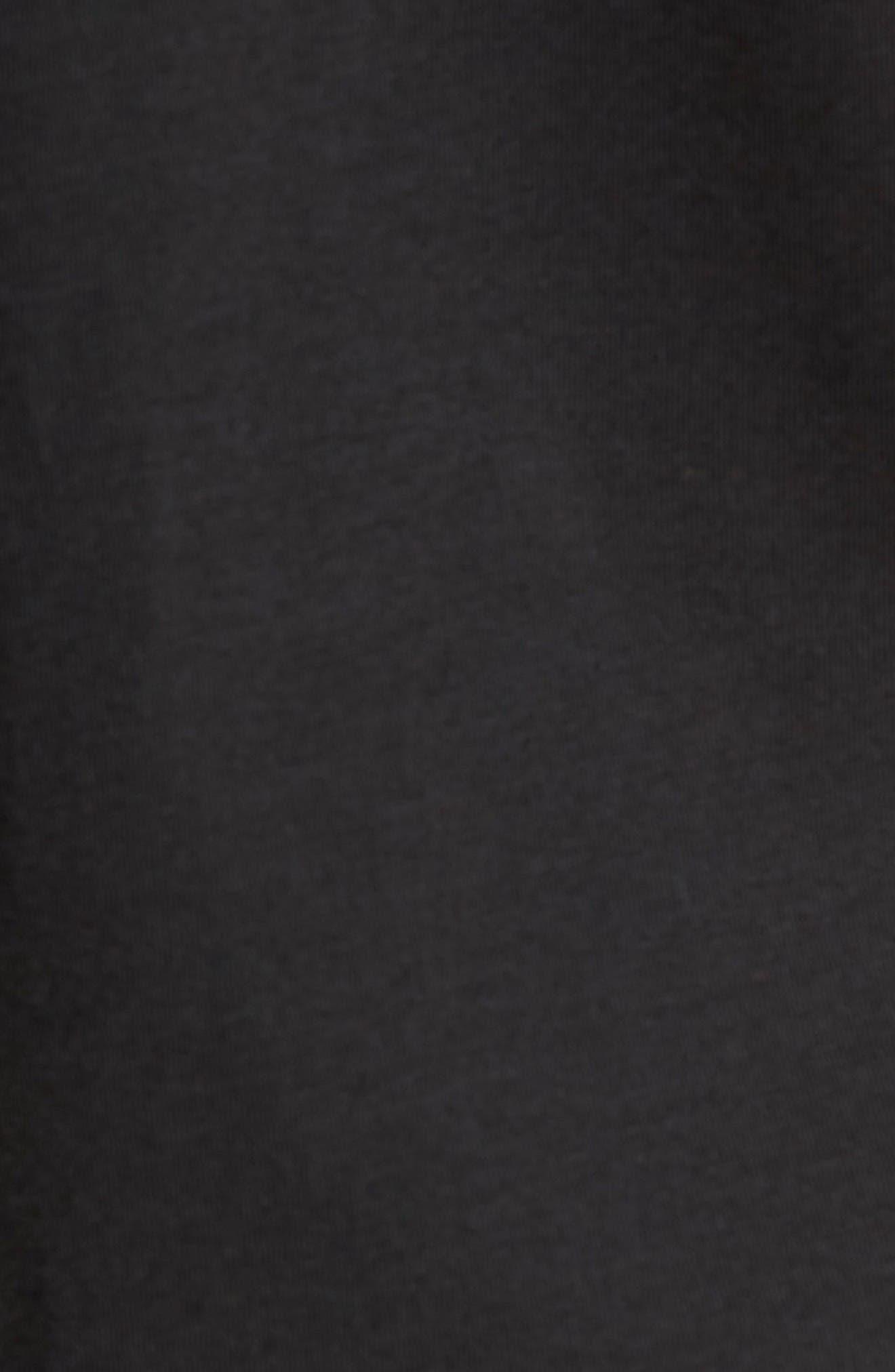 Tropicool T-Shirt,                             Alternate thumbnail 5, color,                             Black