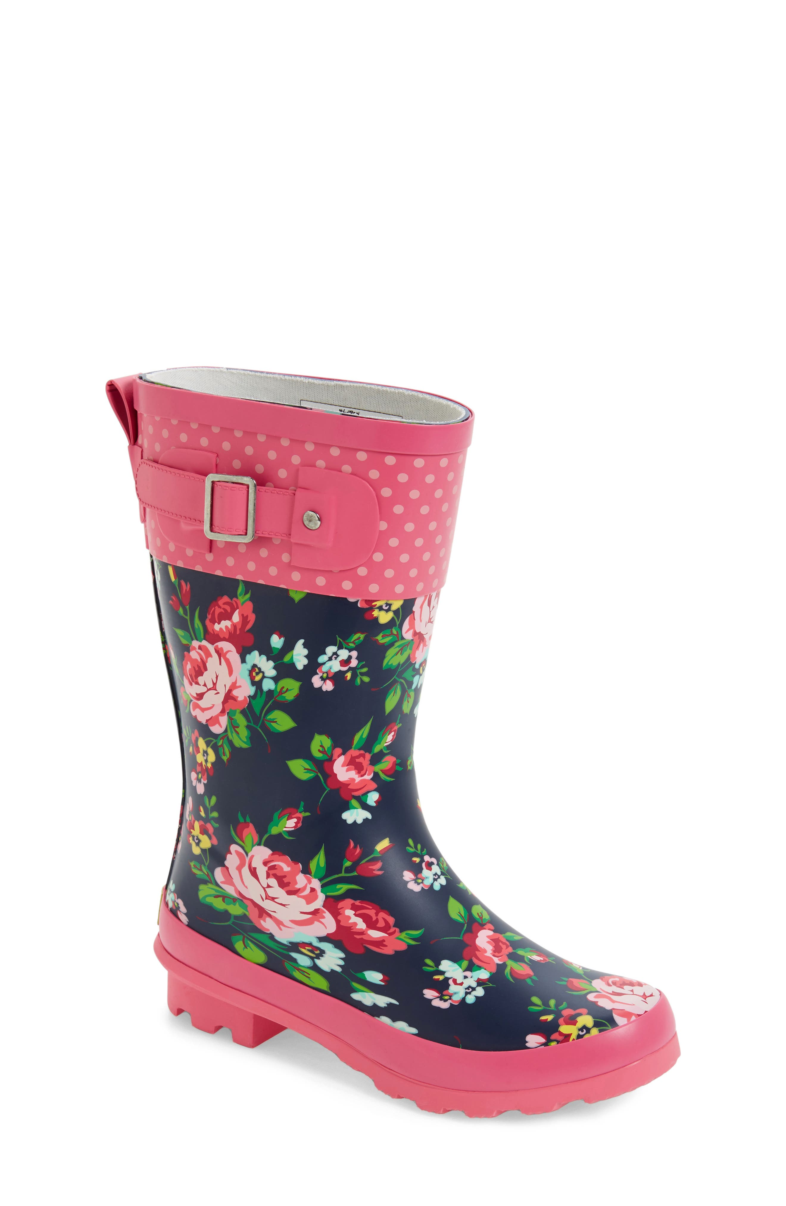 Classic Rosie Rain Boot,                             Main thumbnail 1, color,                             Navy