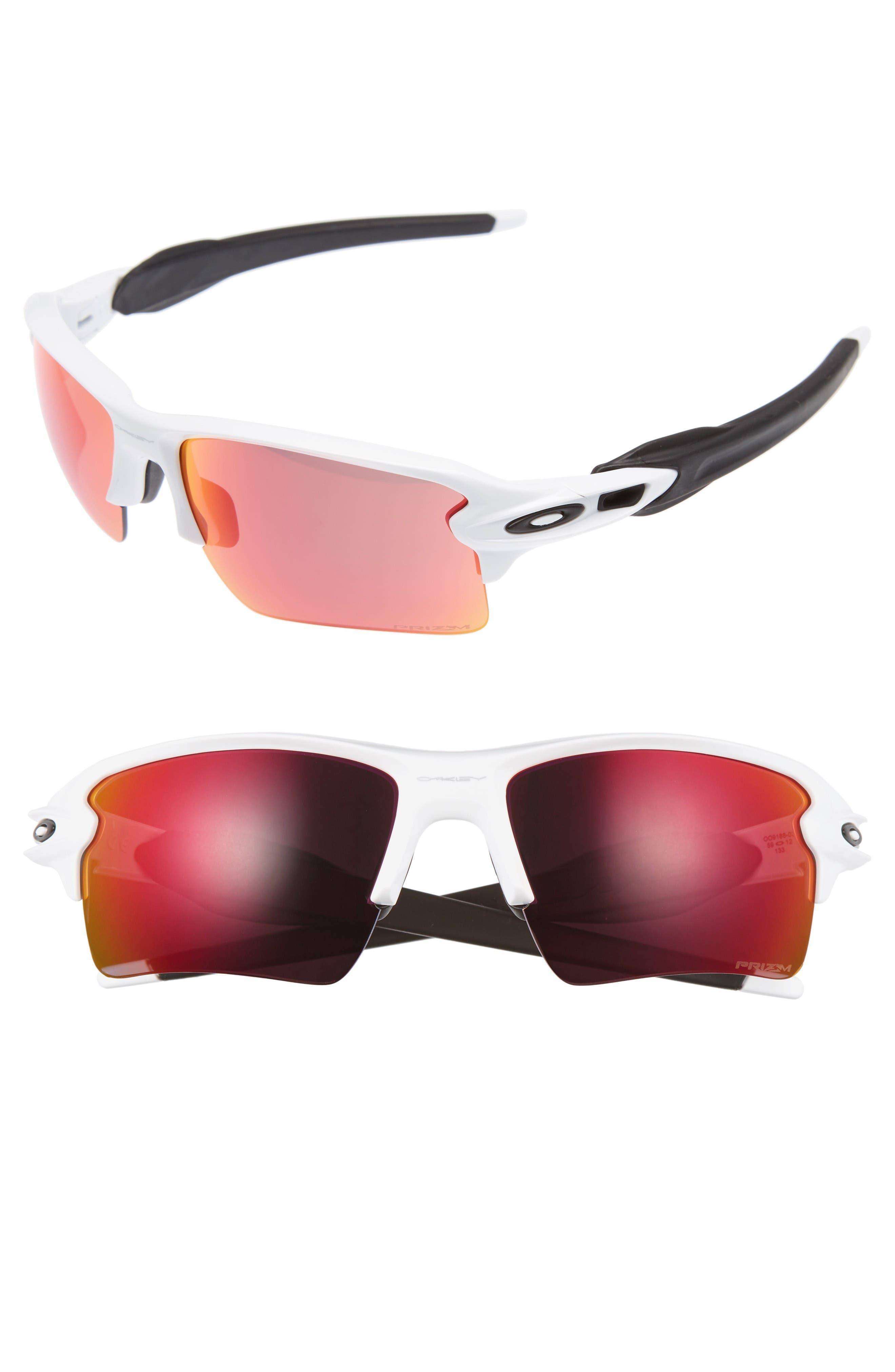 Flak 2.0 XL 59mm Sunglasses,                             Main thumbnail 1, color,                             White