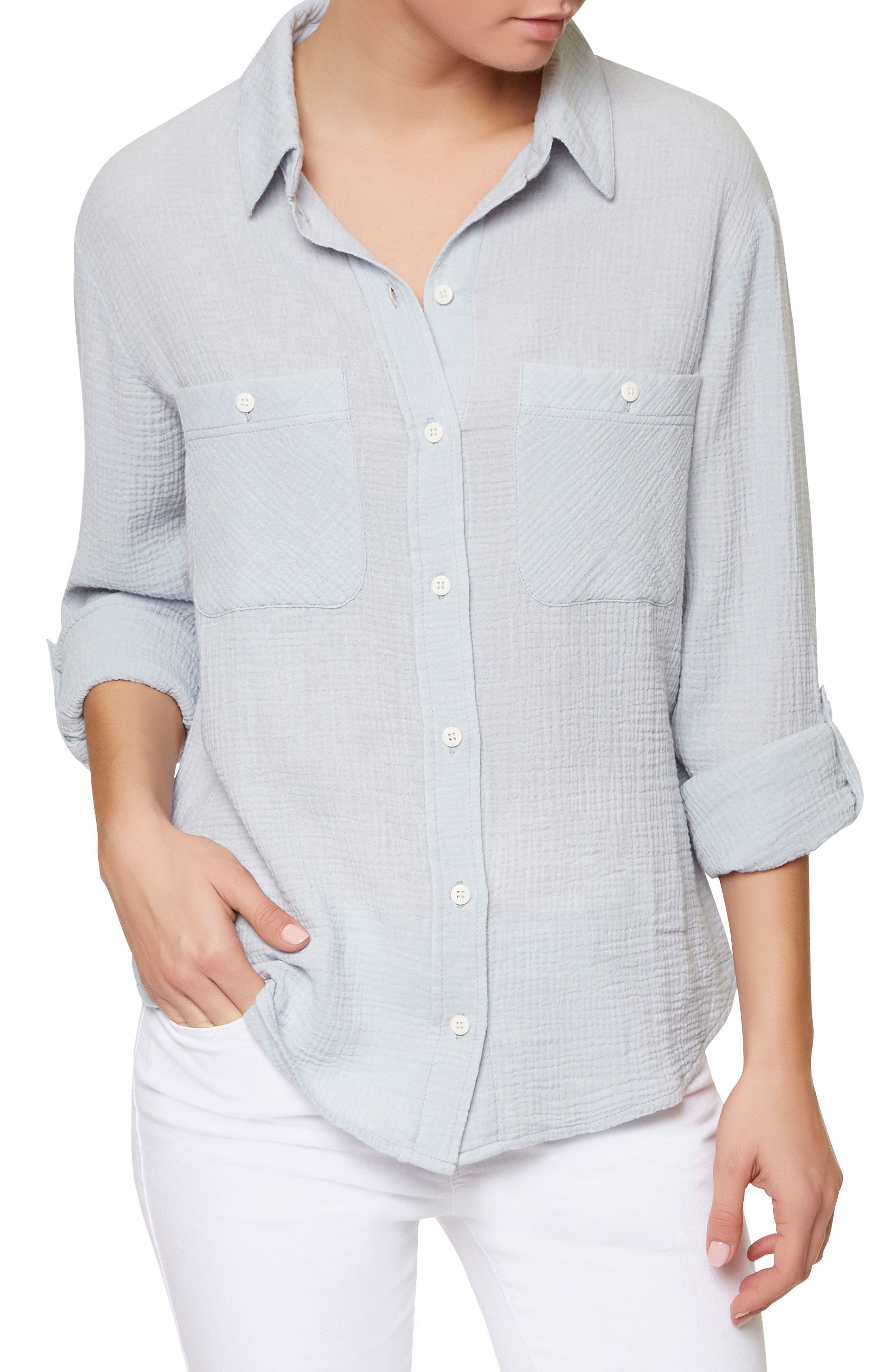 Main Image - Sanctuary The Steady Boyfriend Shirt