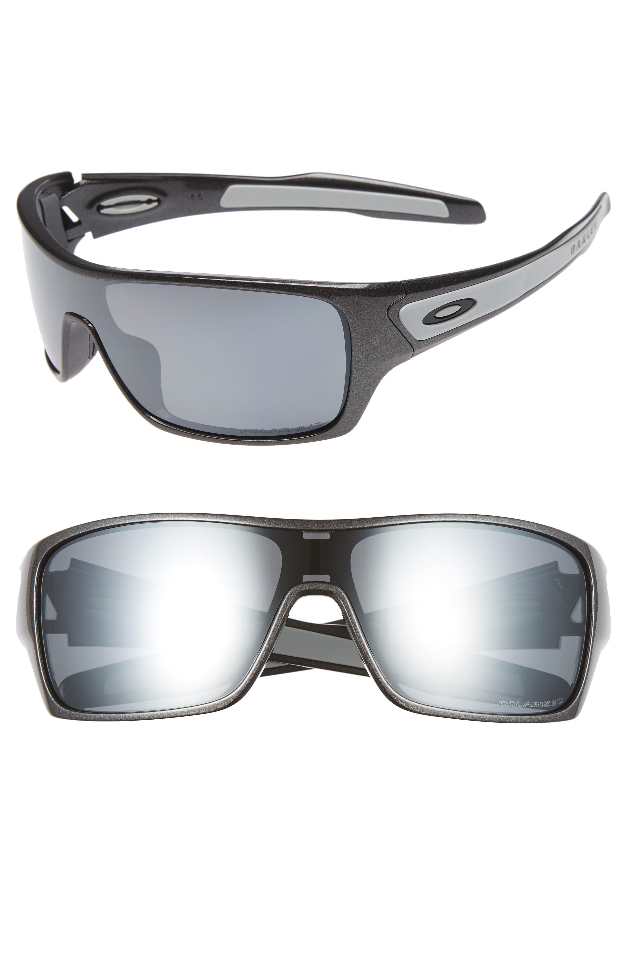 Turbine Rotor 63mm Polarized Sunglasses,                             Main thumbnail 1, color,                             Grey