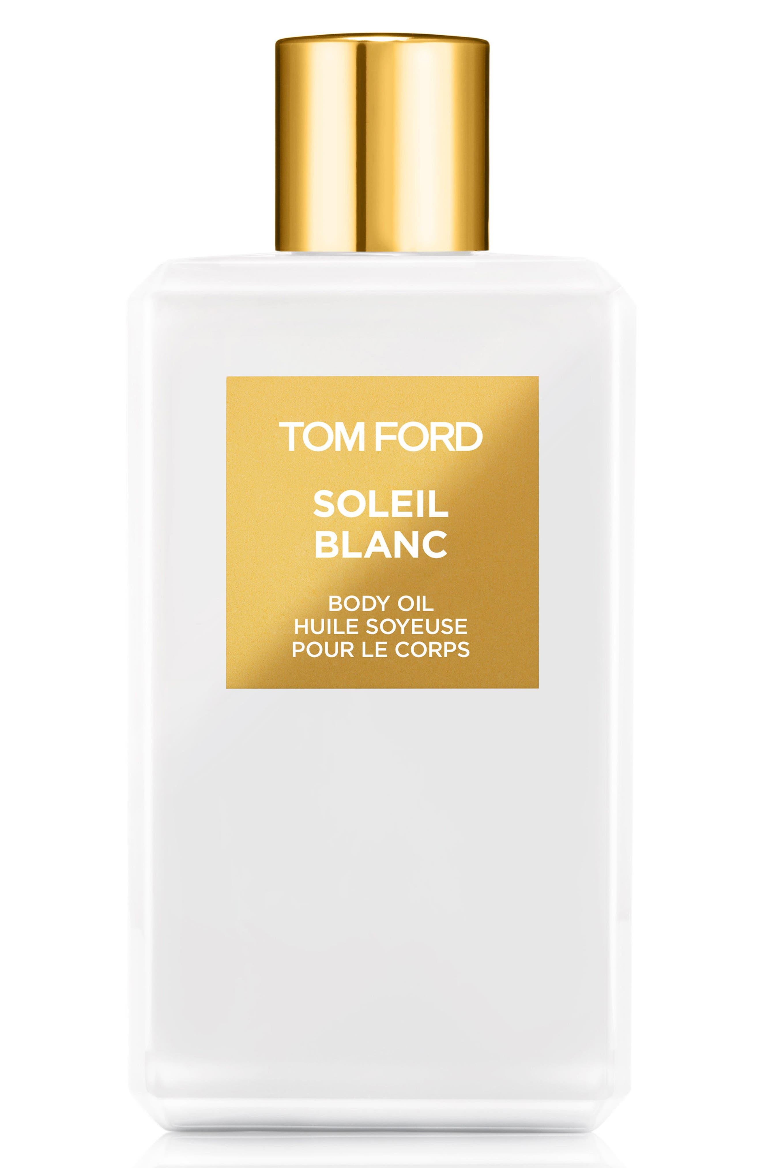Private Blend Soleil Blanc Body Oil,                             Main thumbnail 1, color,                             No Color