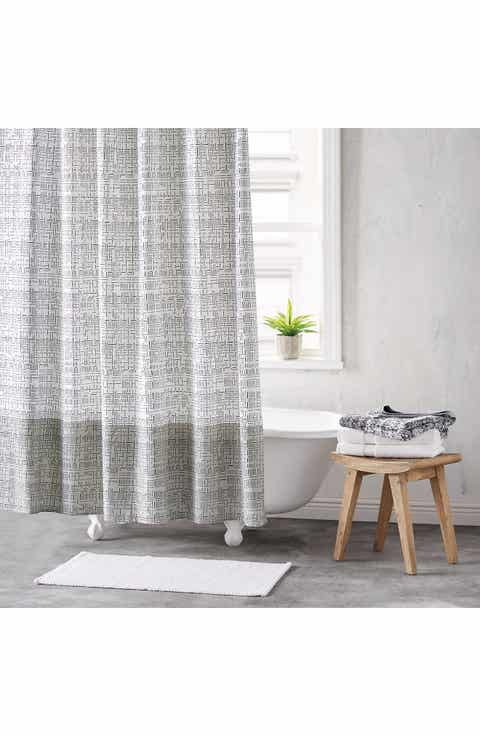 gray and white striped shower curtain. DKNY Crossway Shower Curtain Curtains Bath  Nordstrom