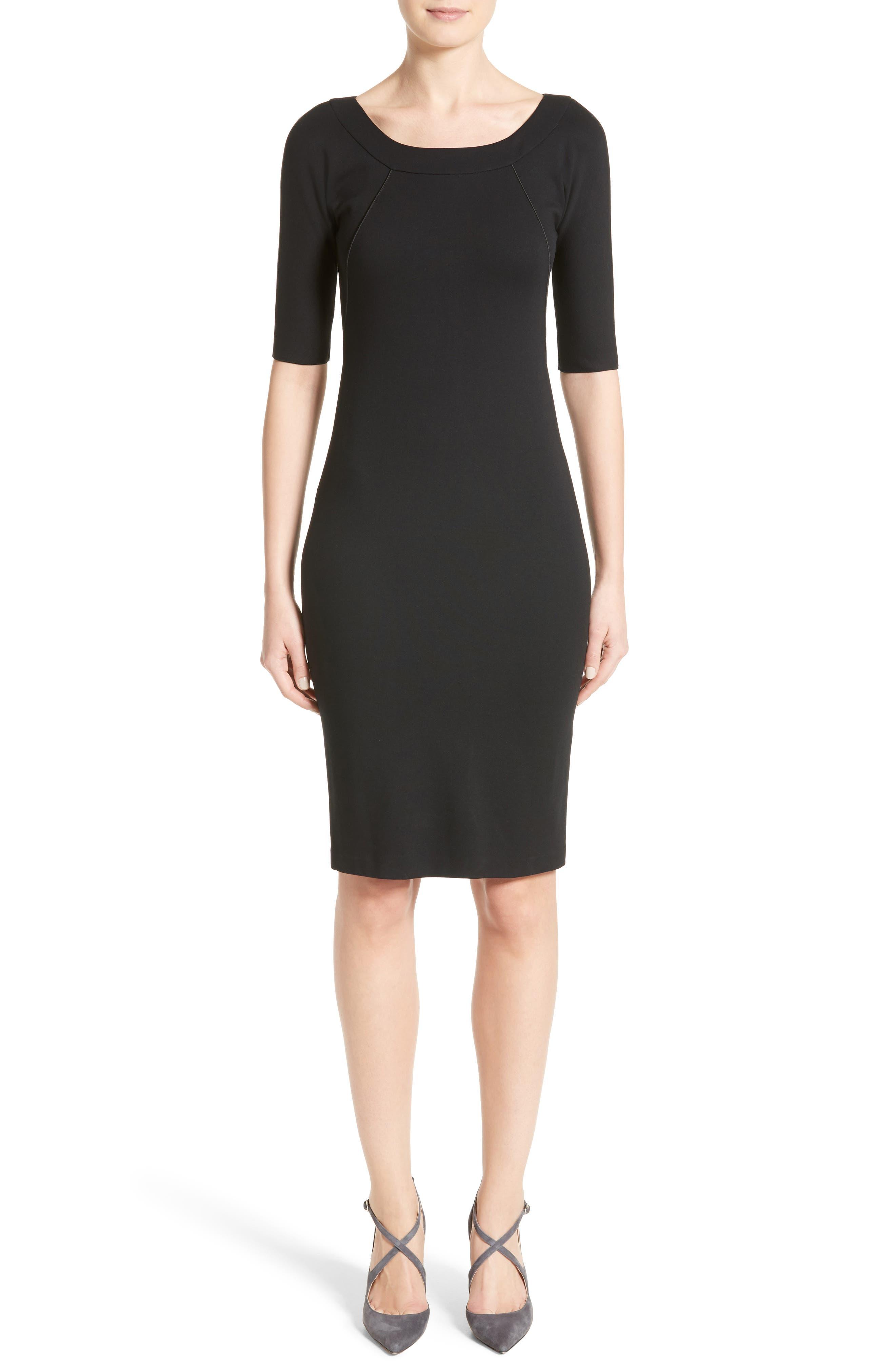 Body-Con Dress,                         Main,                         color, Black