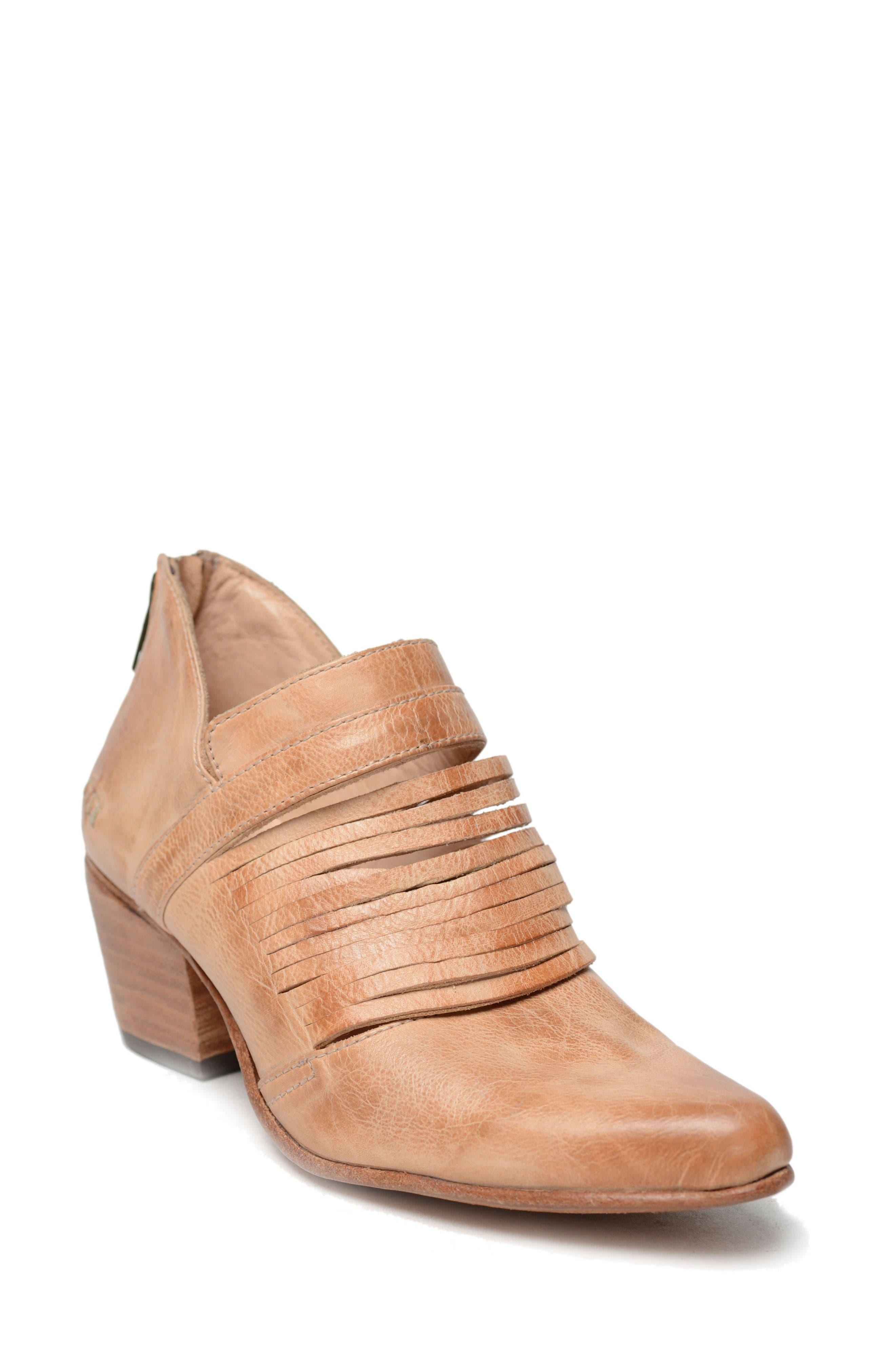 Trough Bootie,                         Main,                         color, Sand Rustic Leather