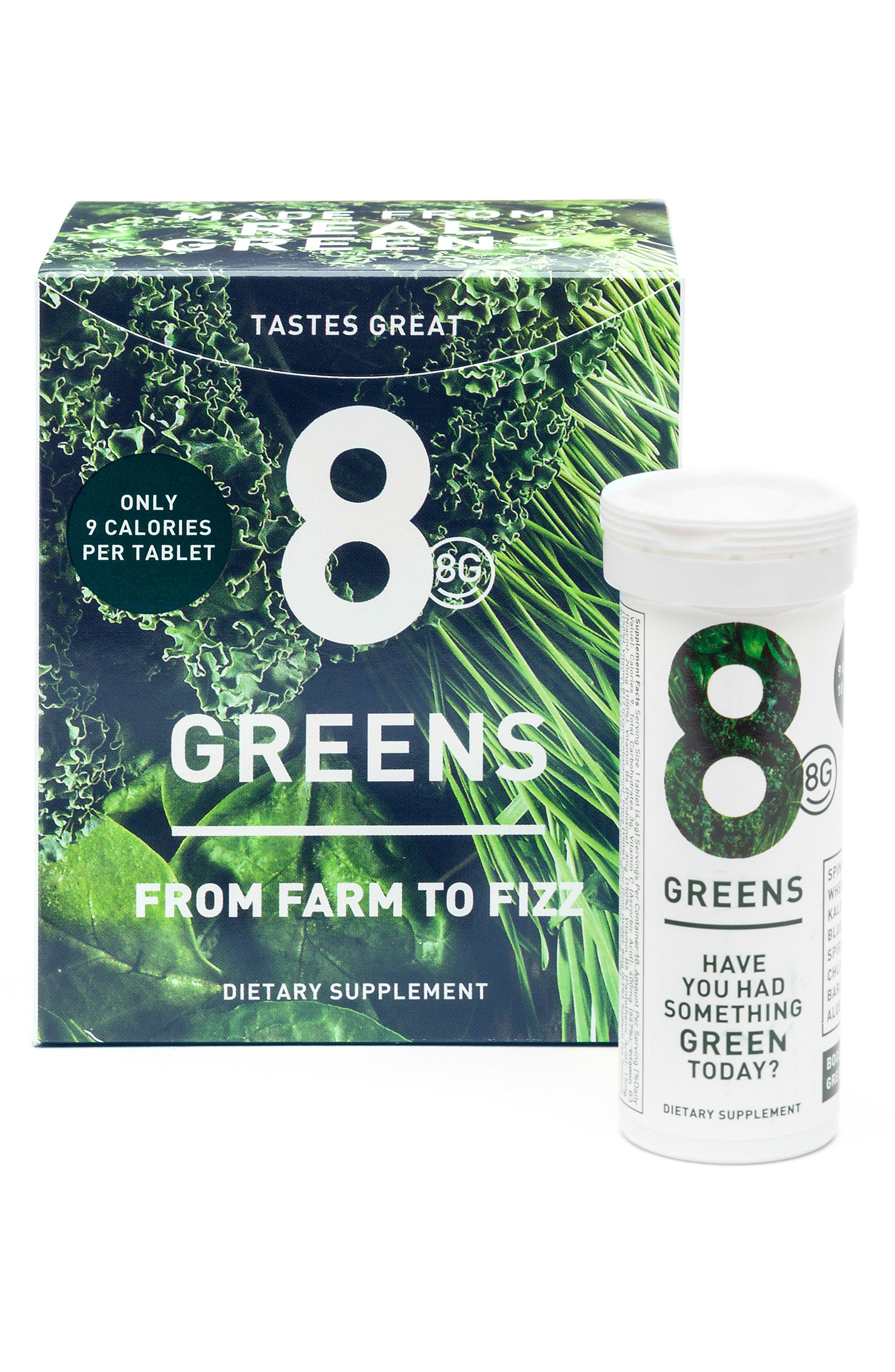 Greens 6-Pack Dietary Supplement,                             Main thumbnail 1, color,                             No Color