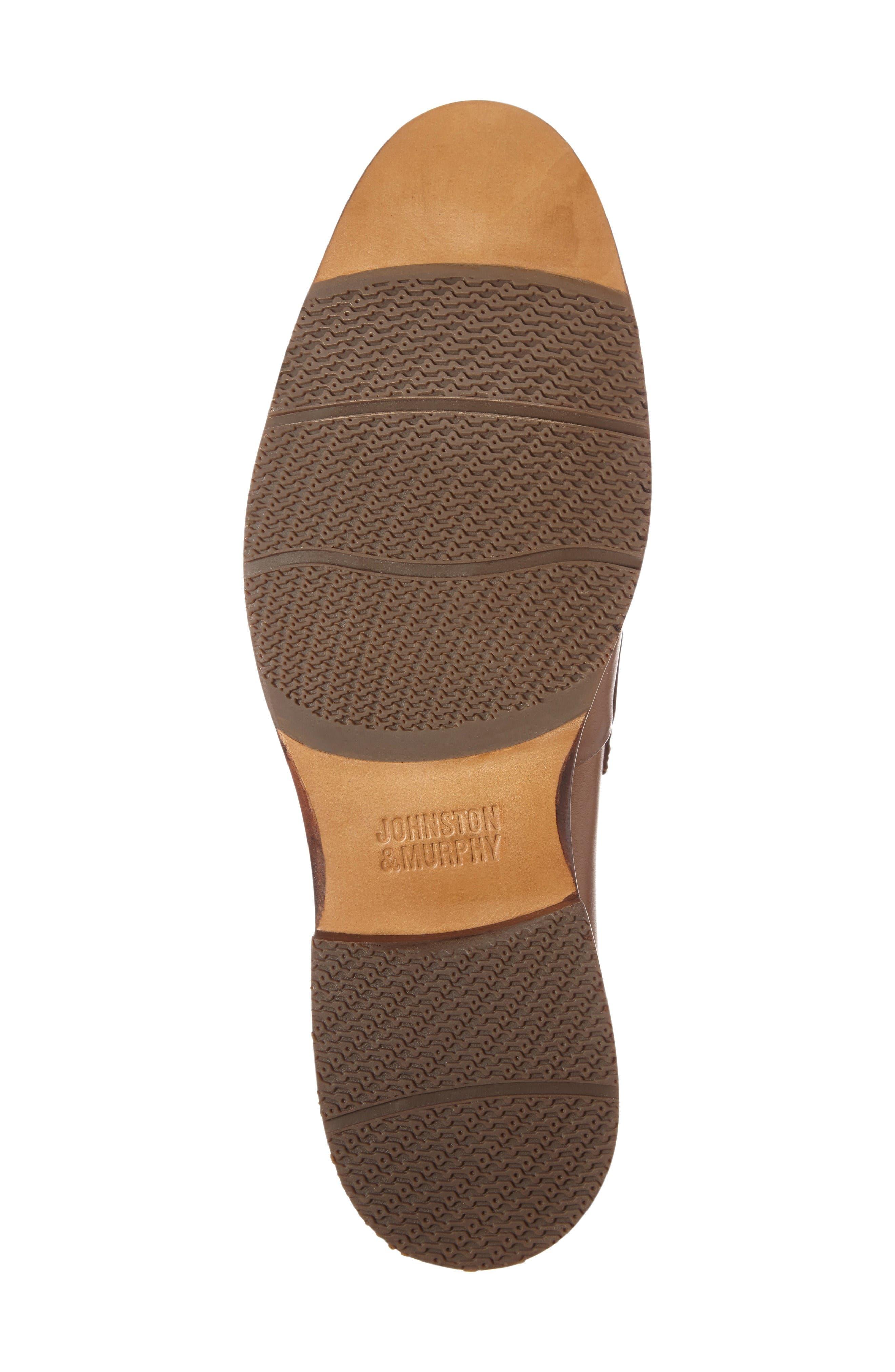 Garner Penny Loafer,                             Alternate thumbnail 5, color,                             Tan Leather