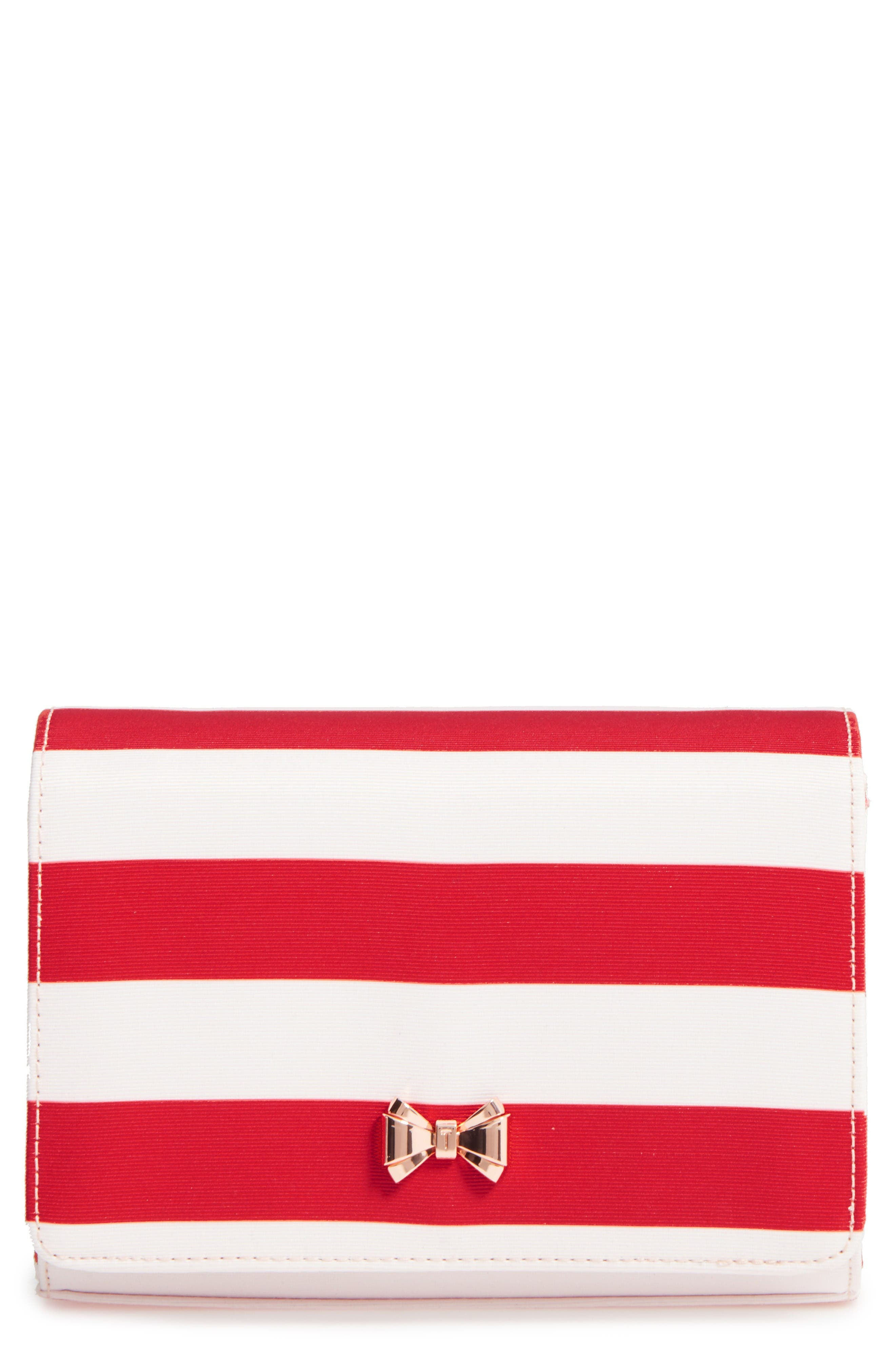 Main Image - Ted Baker London Pier Stripe Clutch