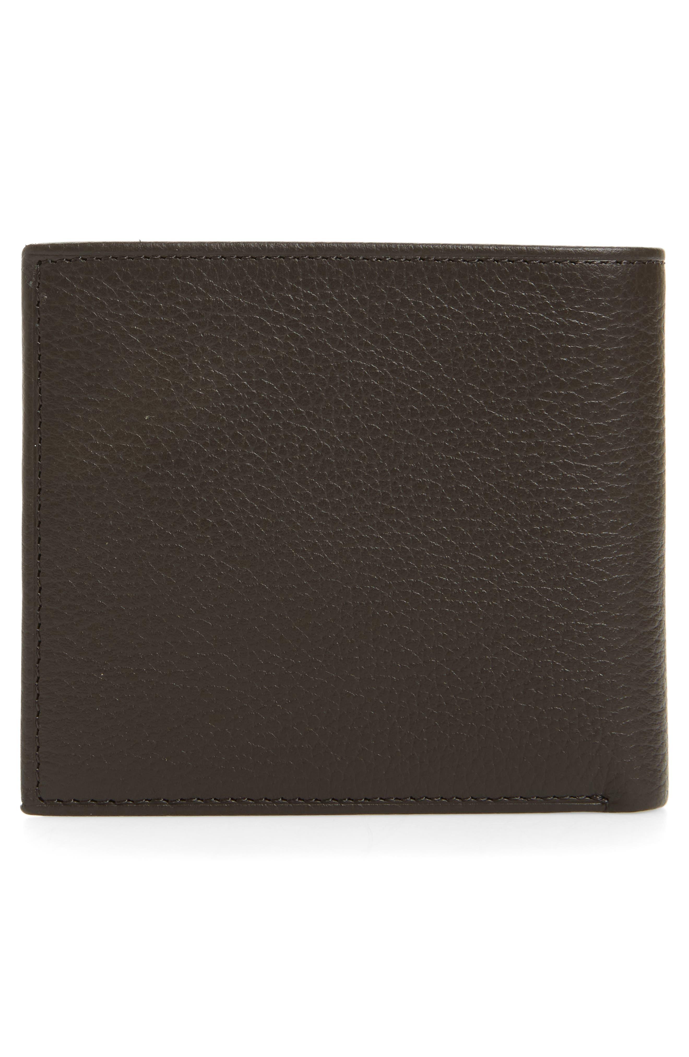 Alternate Image 3  - Polo Ralph Lauren Leather Wallet