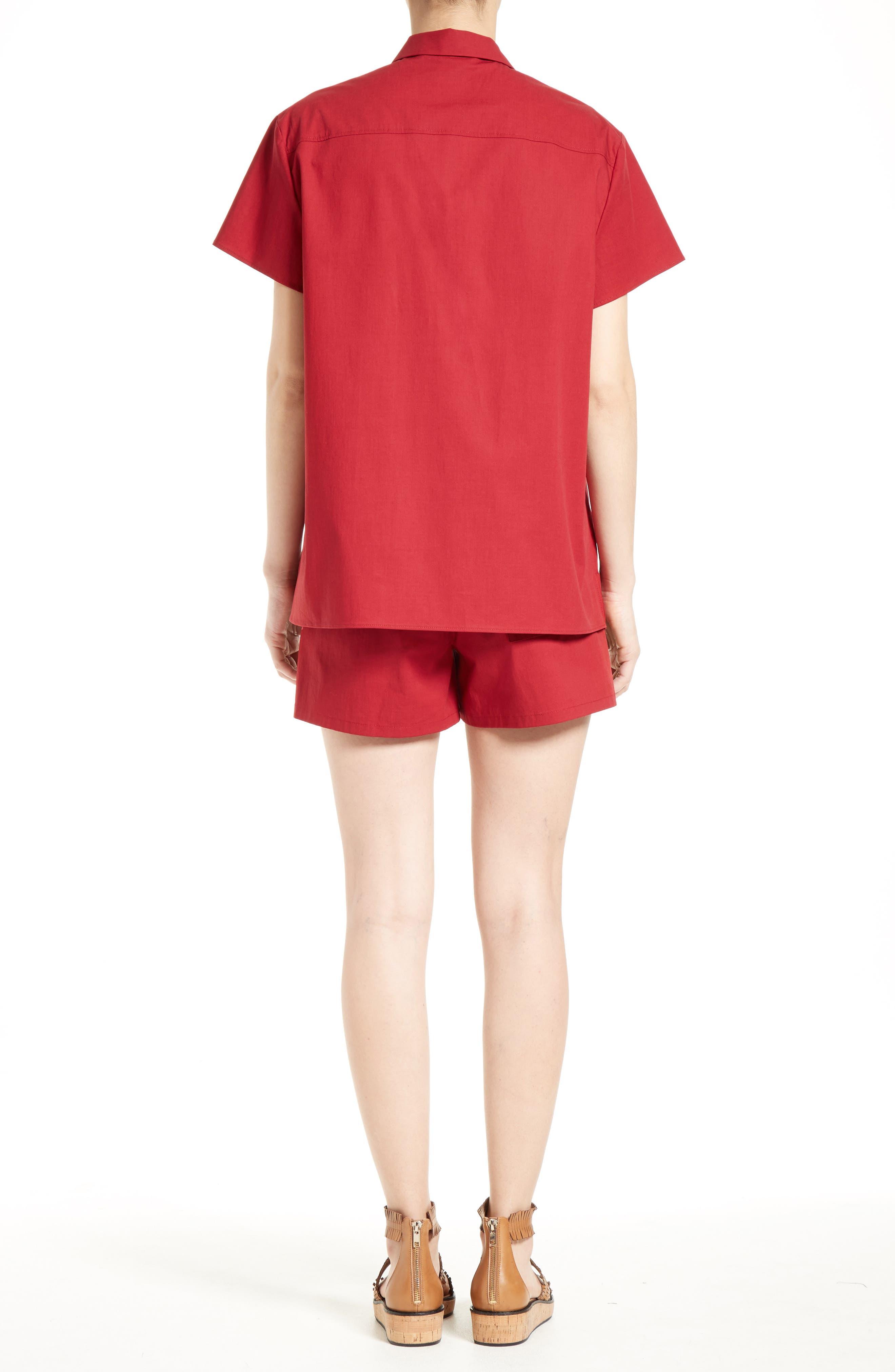 Alternate Image 3  - RED Valentino Surfboard Print Camp Shirt