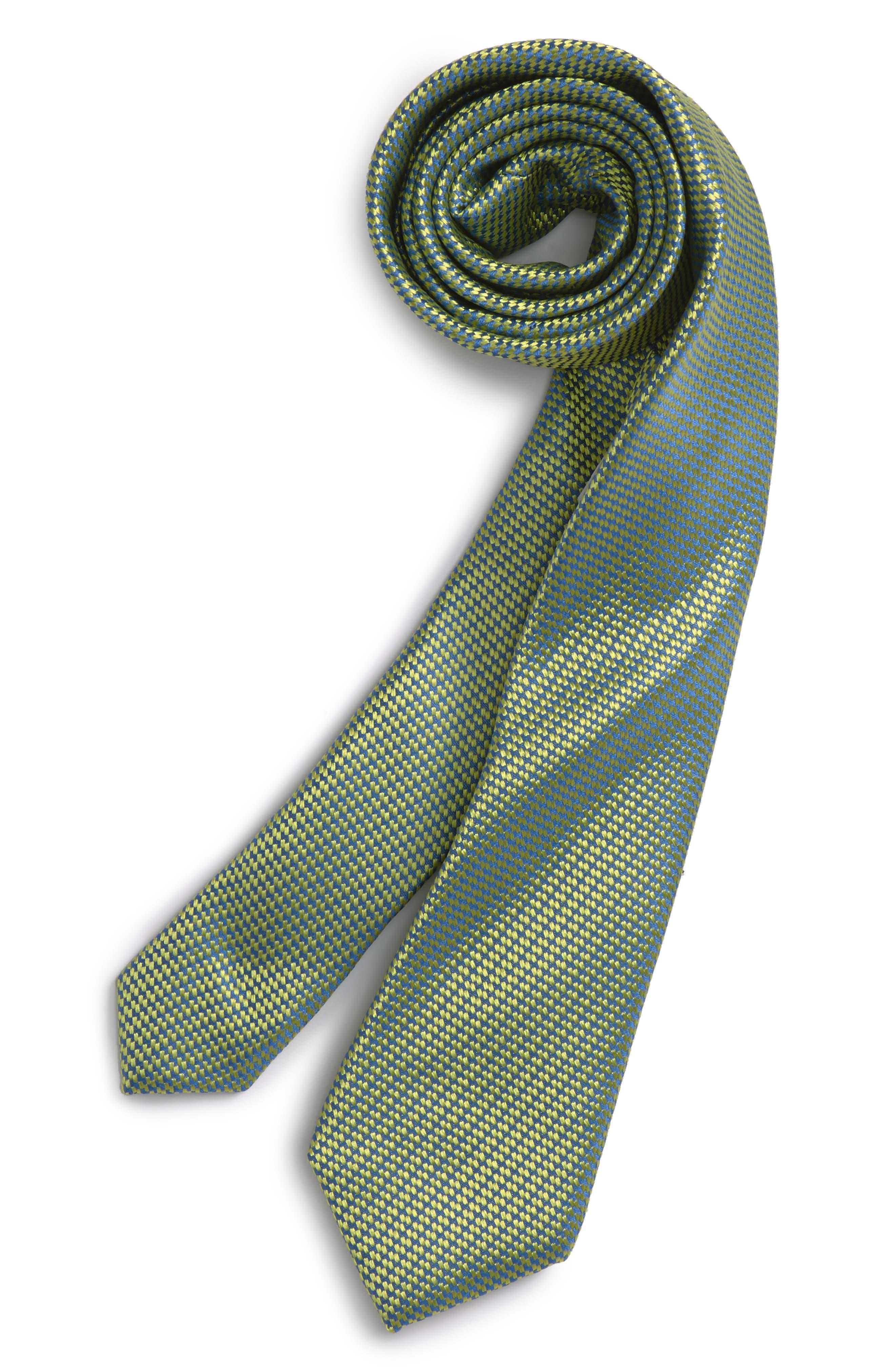 NORDSTROM Textured Silk Tie