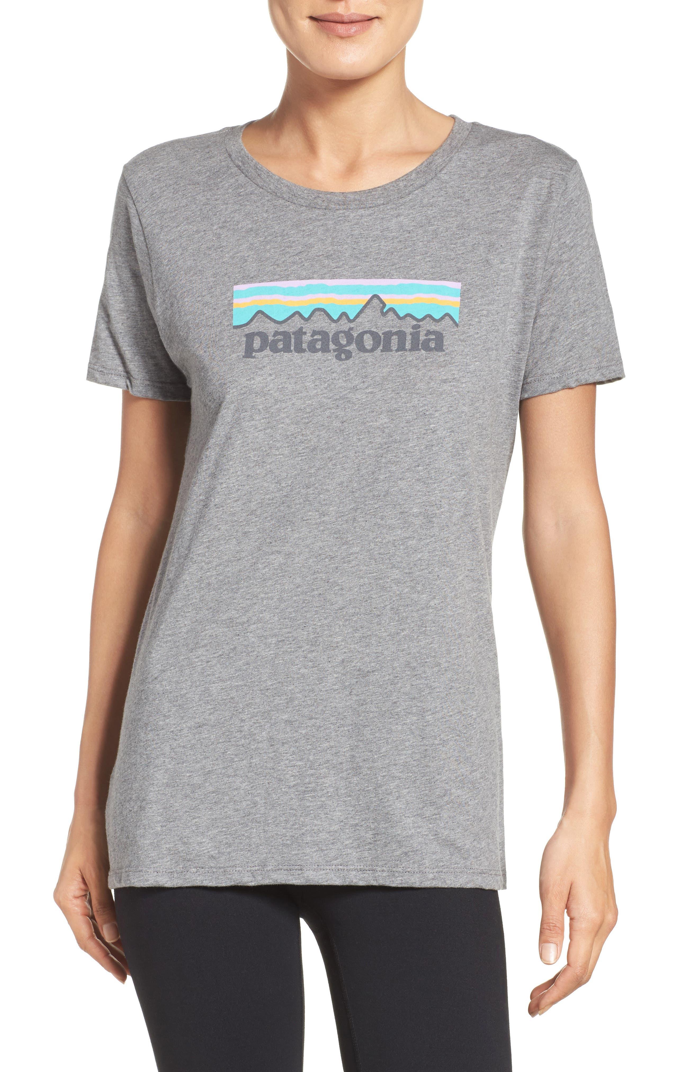 Alternate Image 1 Selected - Patagonia P-6 Organic Cotton Tee