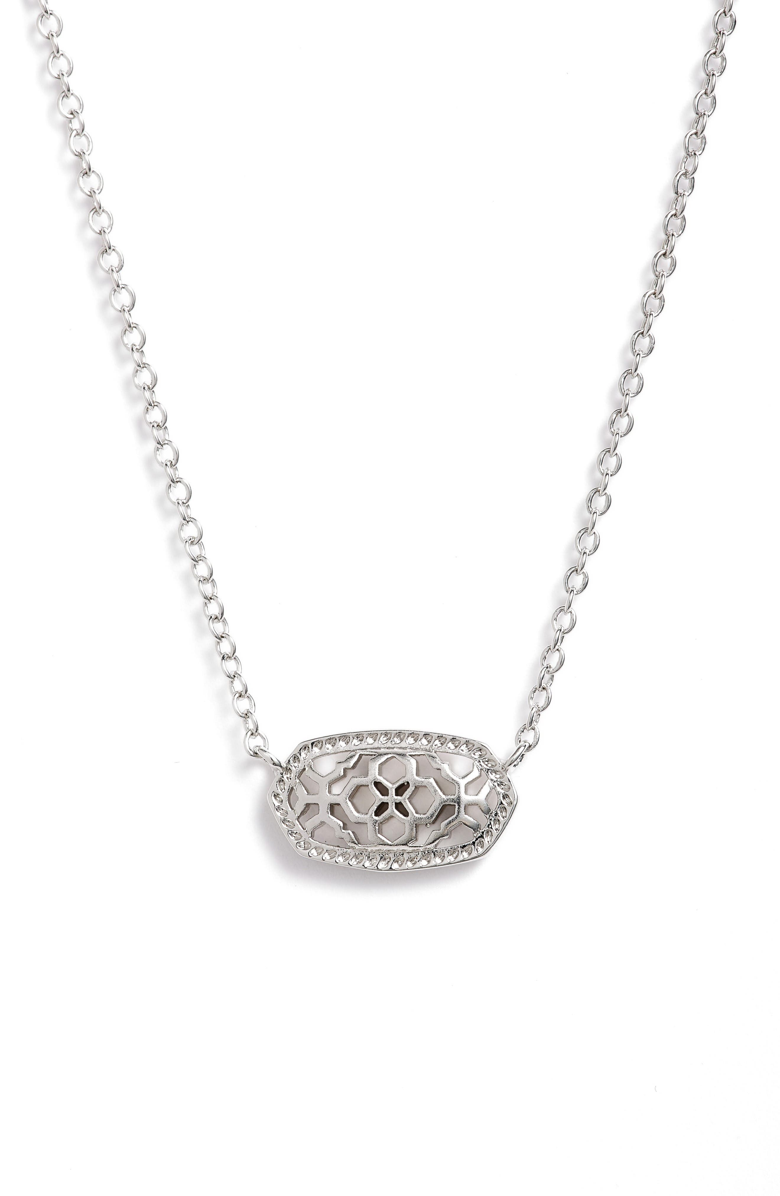 Kendra Scott Elisa Filigree Pendant Necklace
