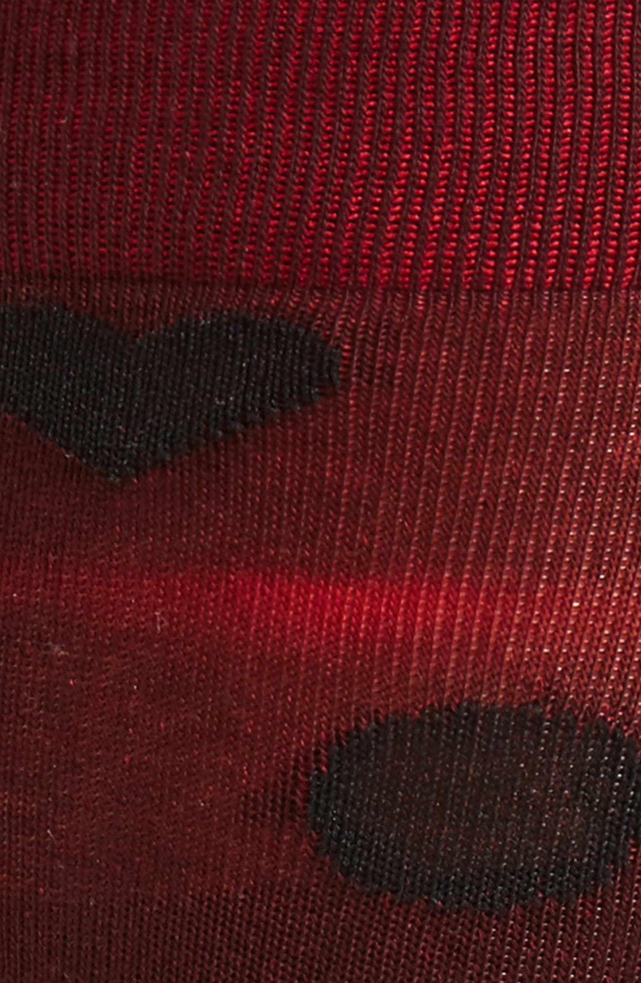 Flamenco Crew Socks,                             Alternate thumbnail 2, color,                             Red